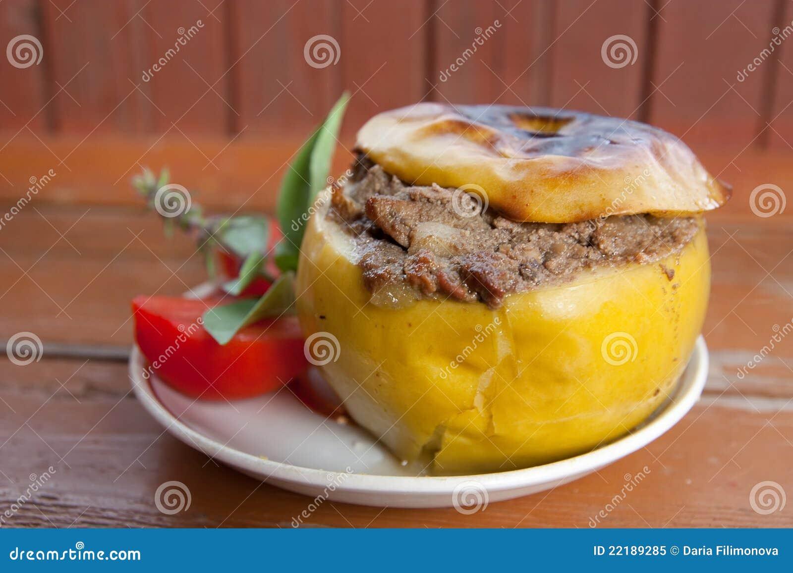 κρέας μήλων που γεμίζετα&iota