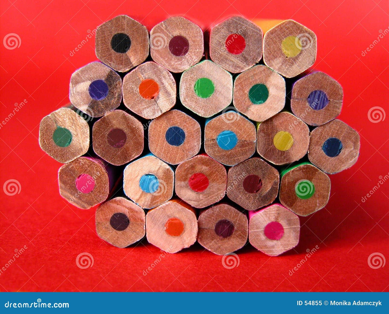 Download κραγιόνια στοκ εικόνα. εικόνα από μολύβι, γραμμή, χρώμα - 54855