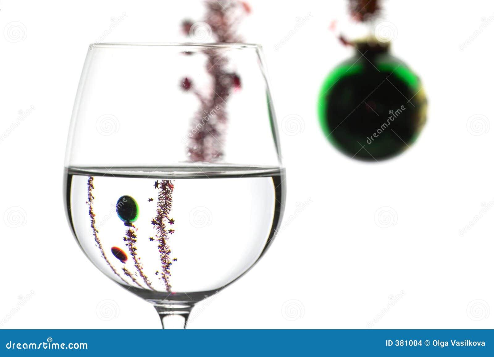 κρασί γυαλιού διακοσμή&sigma