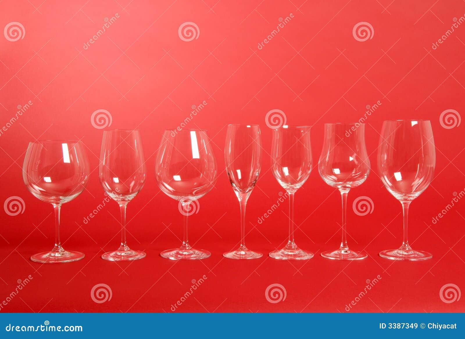 κρασί γυαλιών κρυστάλλο