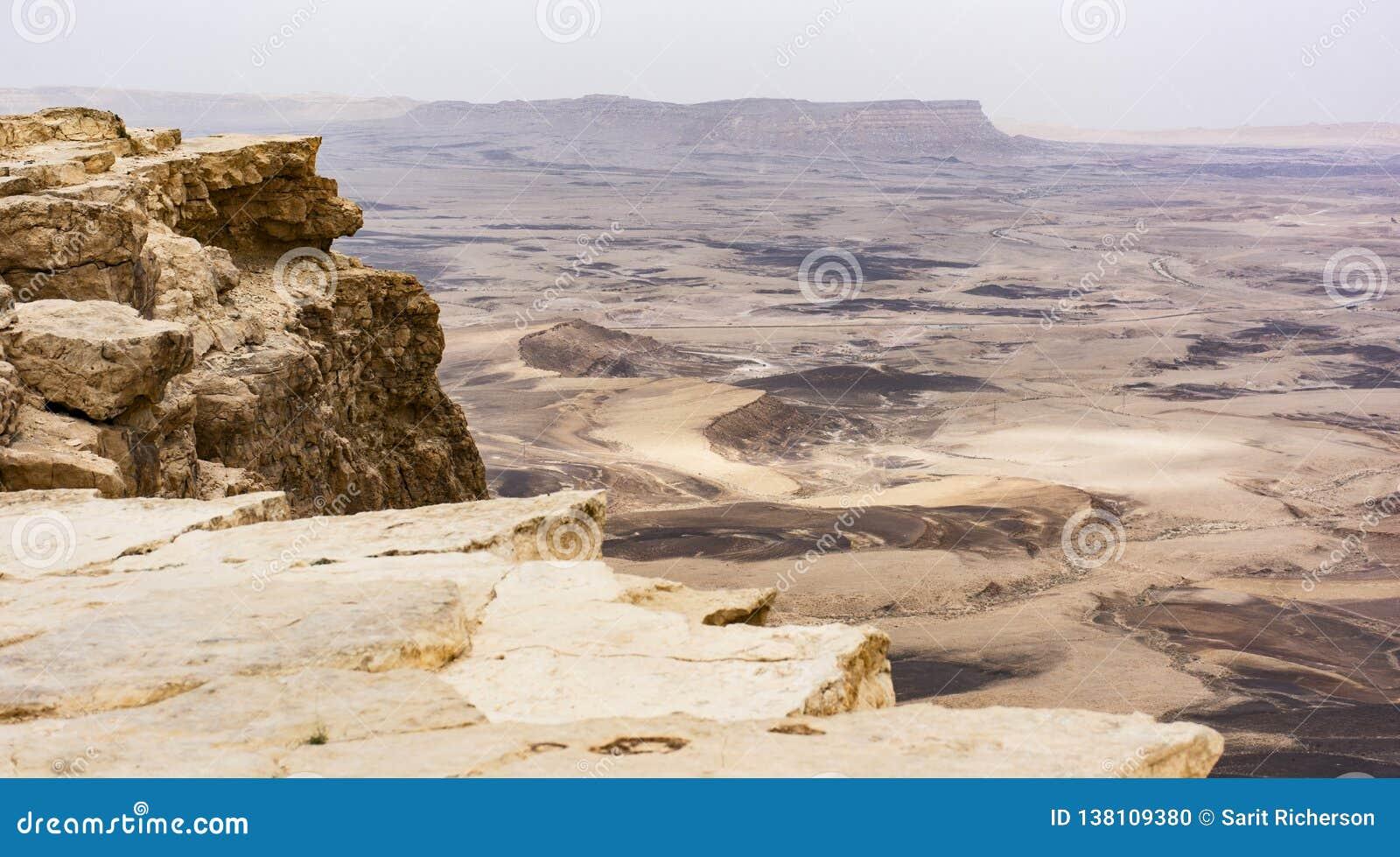 Κρατήρας του Ramon Makhtesh στο Ισραήλ