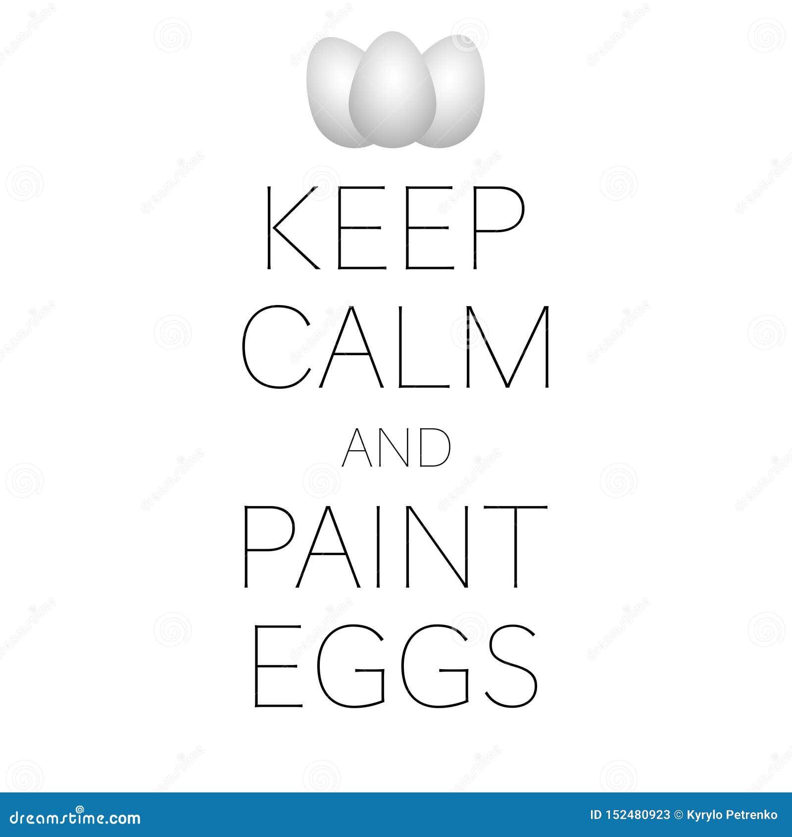 κρατήστε το έμβλημα Πάσχας ήρεμων και αυγών χρωμάτων