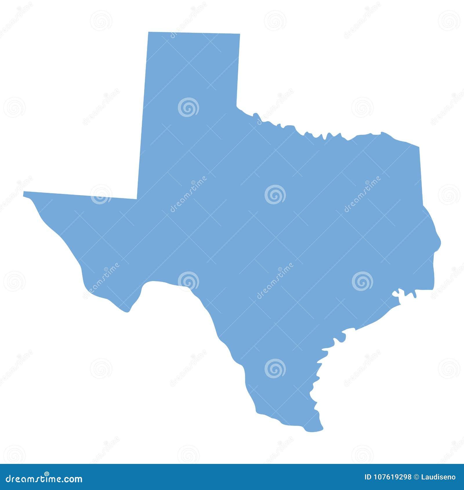 Κρατικός χάρτης του Τέξας