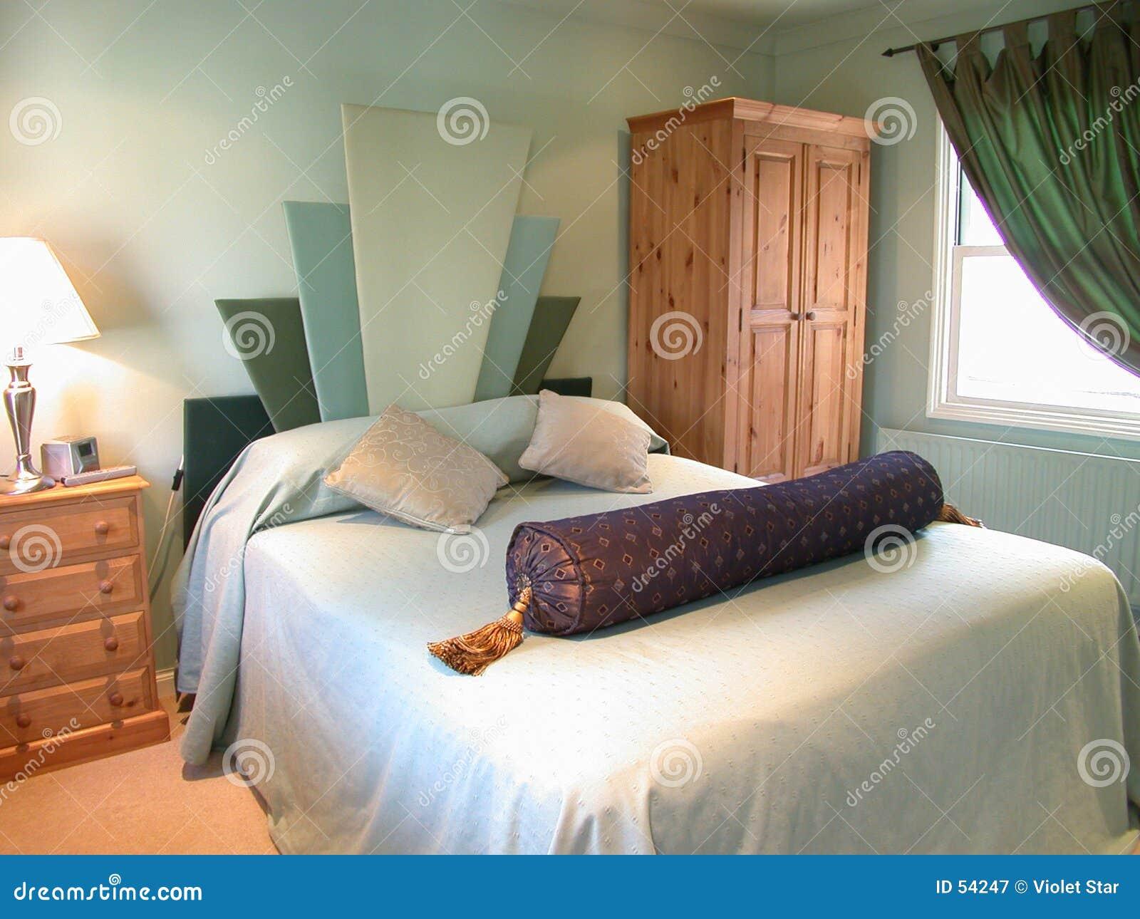κρεβατοκάμαρα πράσινη