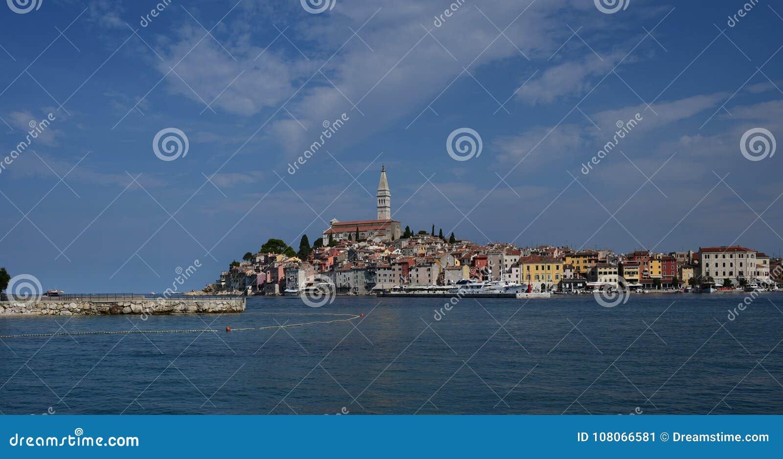 Κροατία, η πόλη Rovinj Το παλαιό μέρος της πόλης