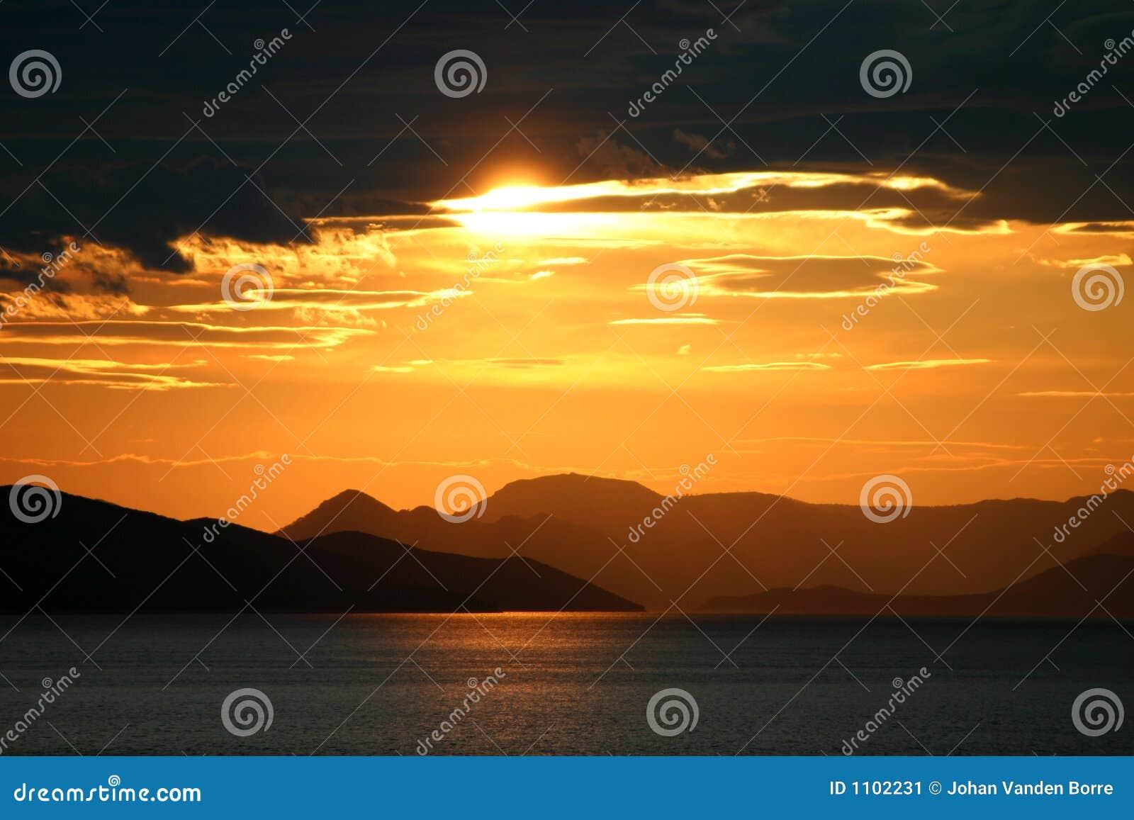 κροατικό ηλιοβασίλεμα