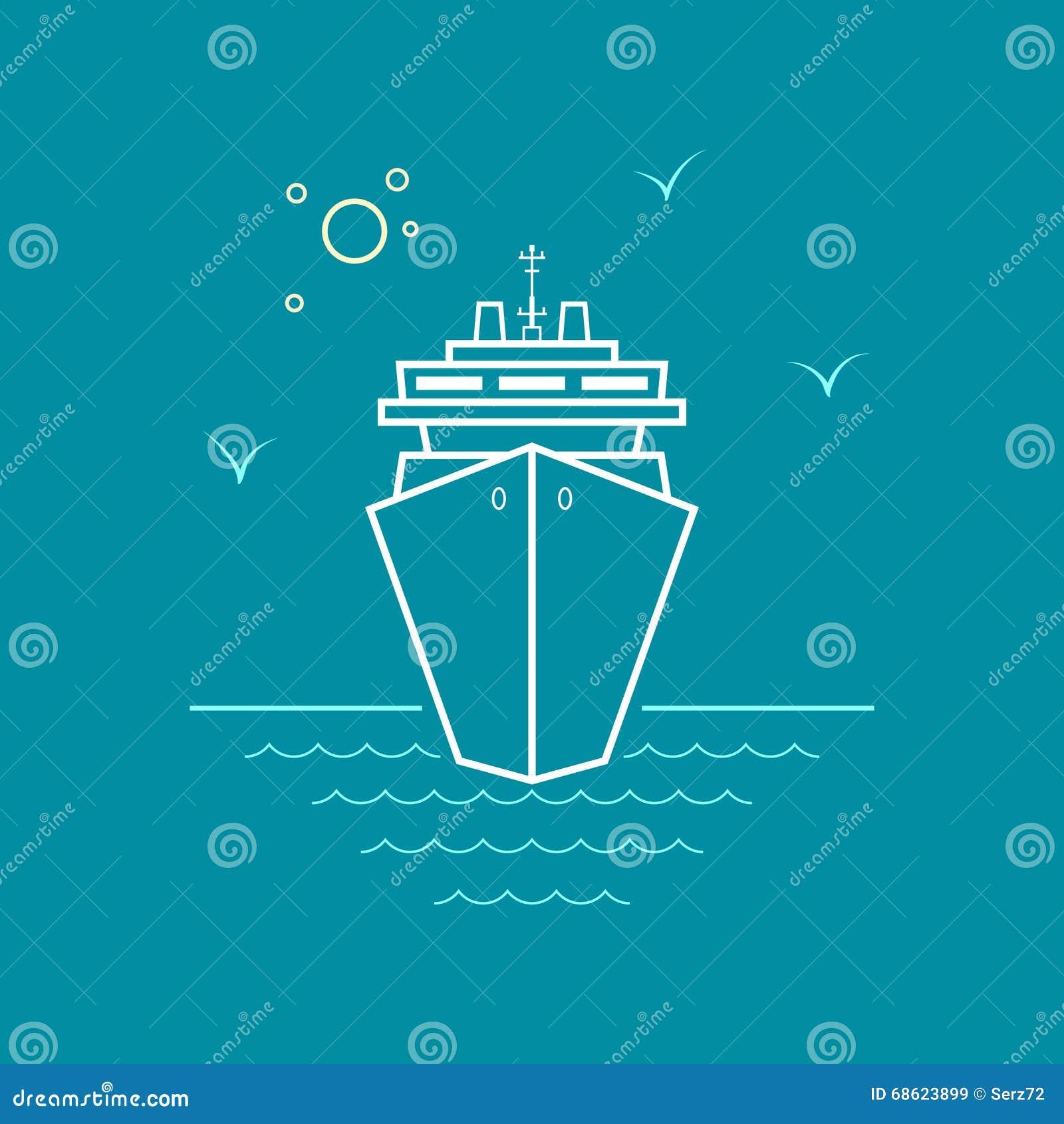 Κρουαζιερόπλοιο, σχέδιο ύφους γραμμών