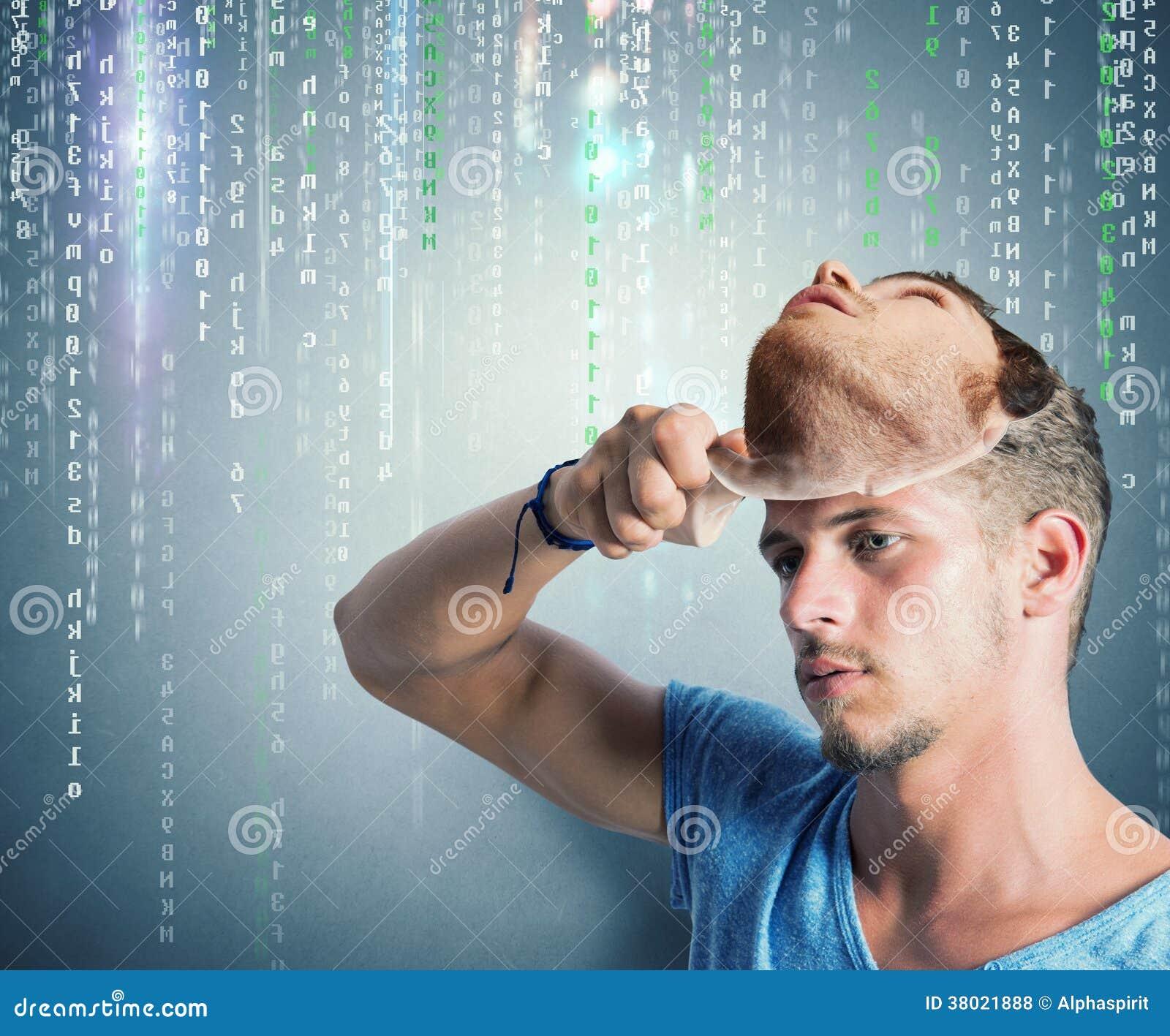 Κρυμμένη ταυτότητα ενός χάκερ