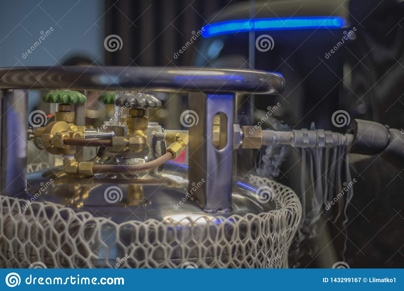 Κρυογόνοι κύλινδροι πατωμάτων εργοστασίων, που χρησιμοποιούνται στις βιομηχανικές διαδικασίες Σκάφη σκεύων Δεωαρ