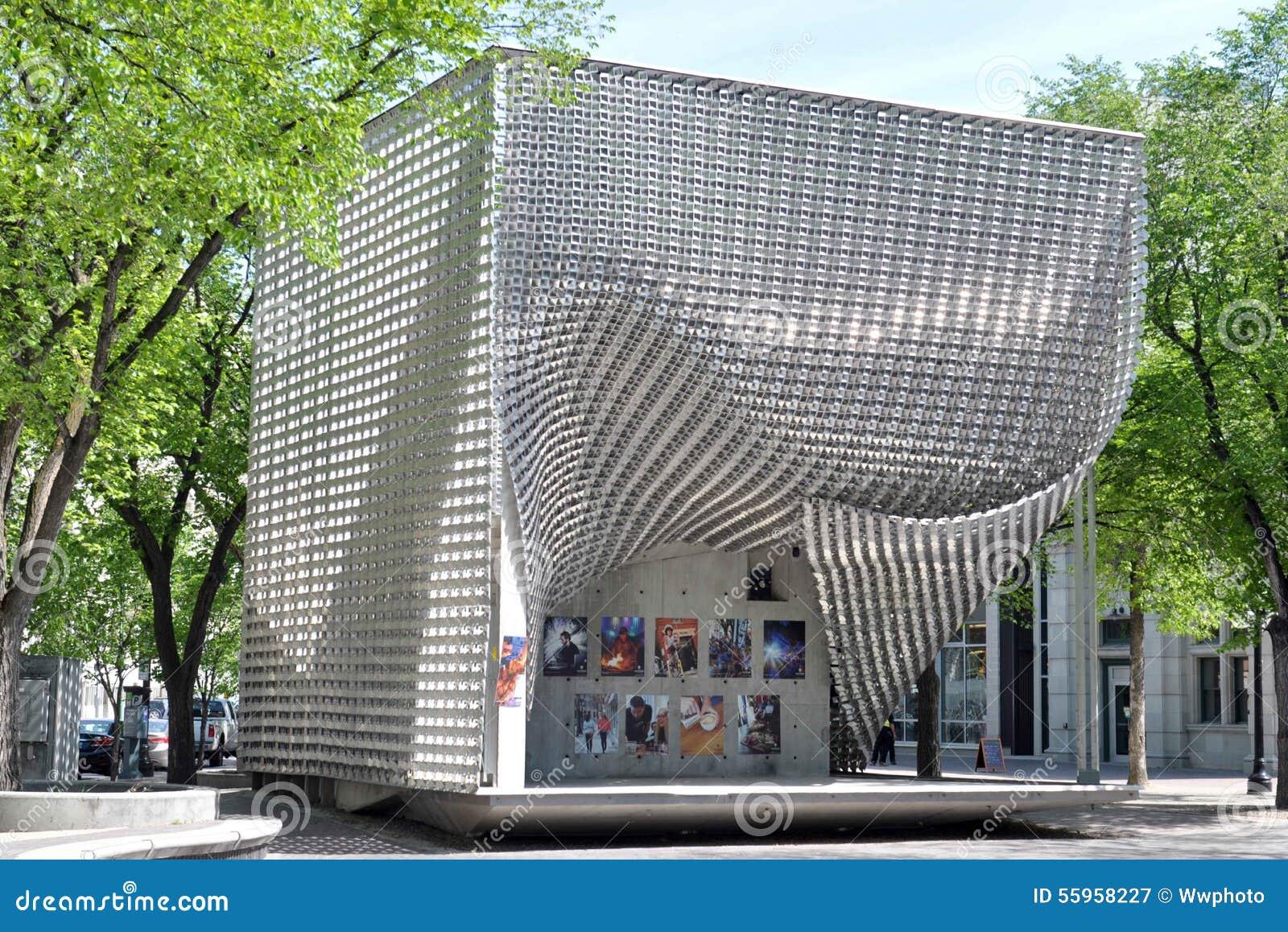 Κτήρια σε στο κέντρο της πόλης, Winnipeg