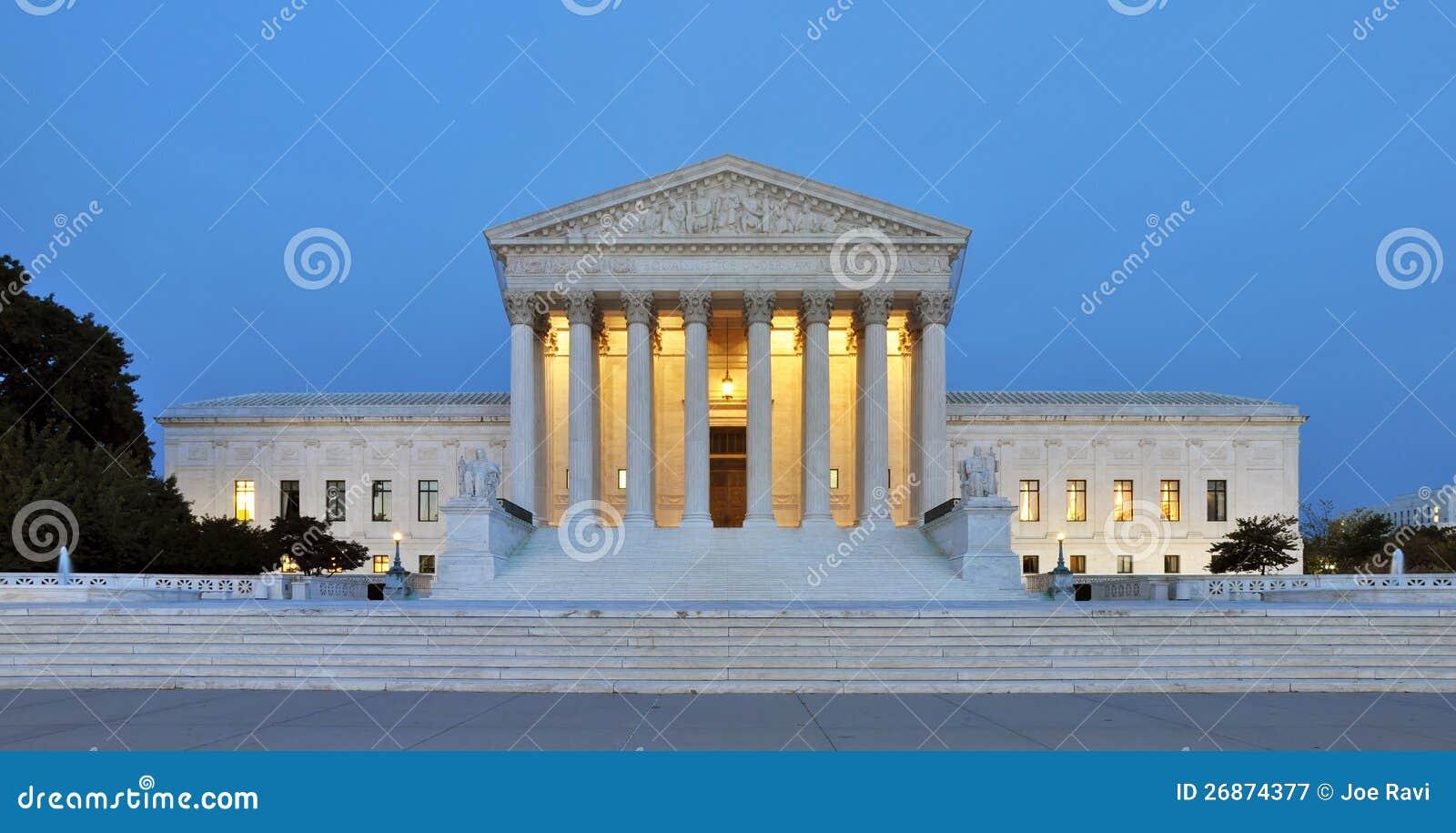 Κτήριο αμερικανικού ανώτατου δικαστηρίου