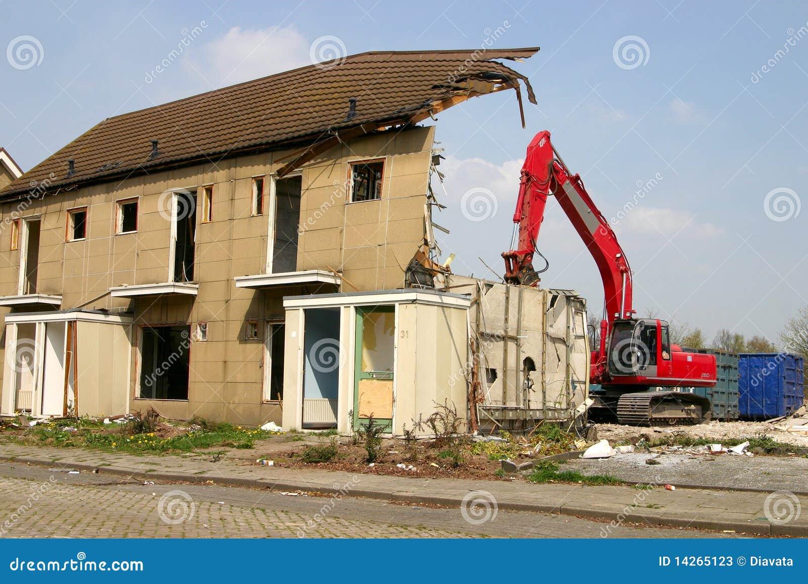 κτήριο που κατεδαφίζετ&alph