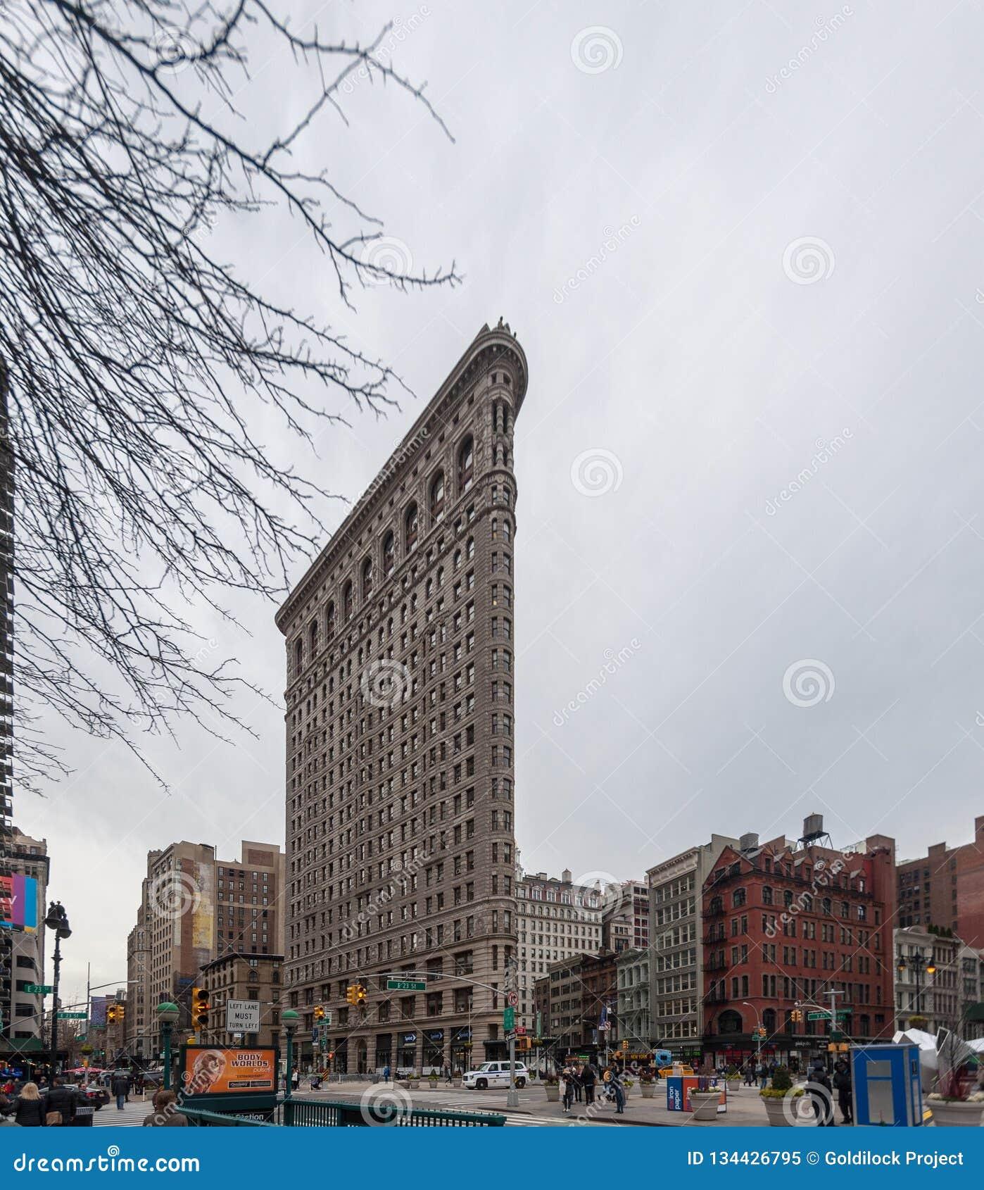 Κτήριο Flatiron, πόλη της Νέας Υόρκης