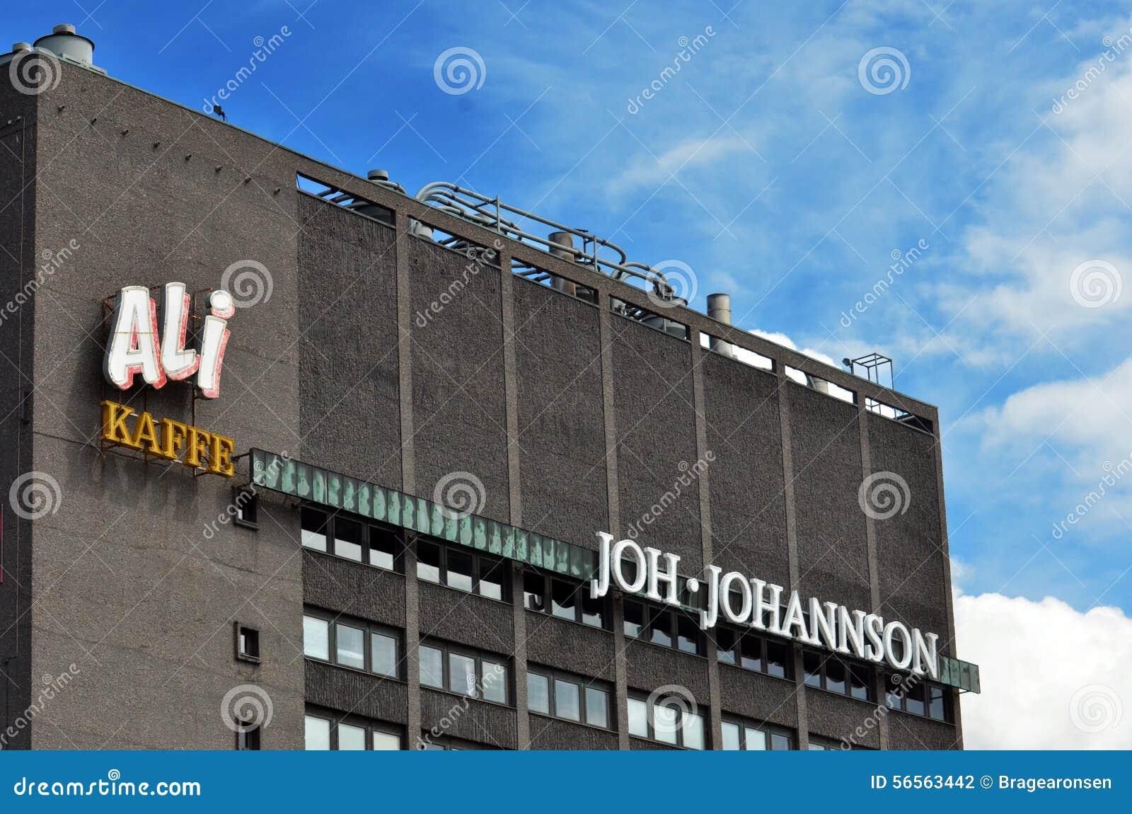 Download Κτίριο γραφείων Johansson Joh Εκδοτική Φωτογραφία - εικόνα από εμπορικός, σημάδια: 56563442