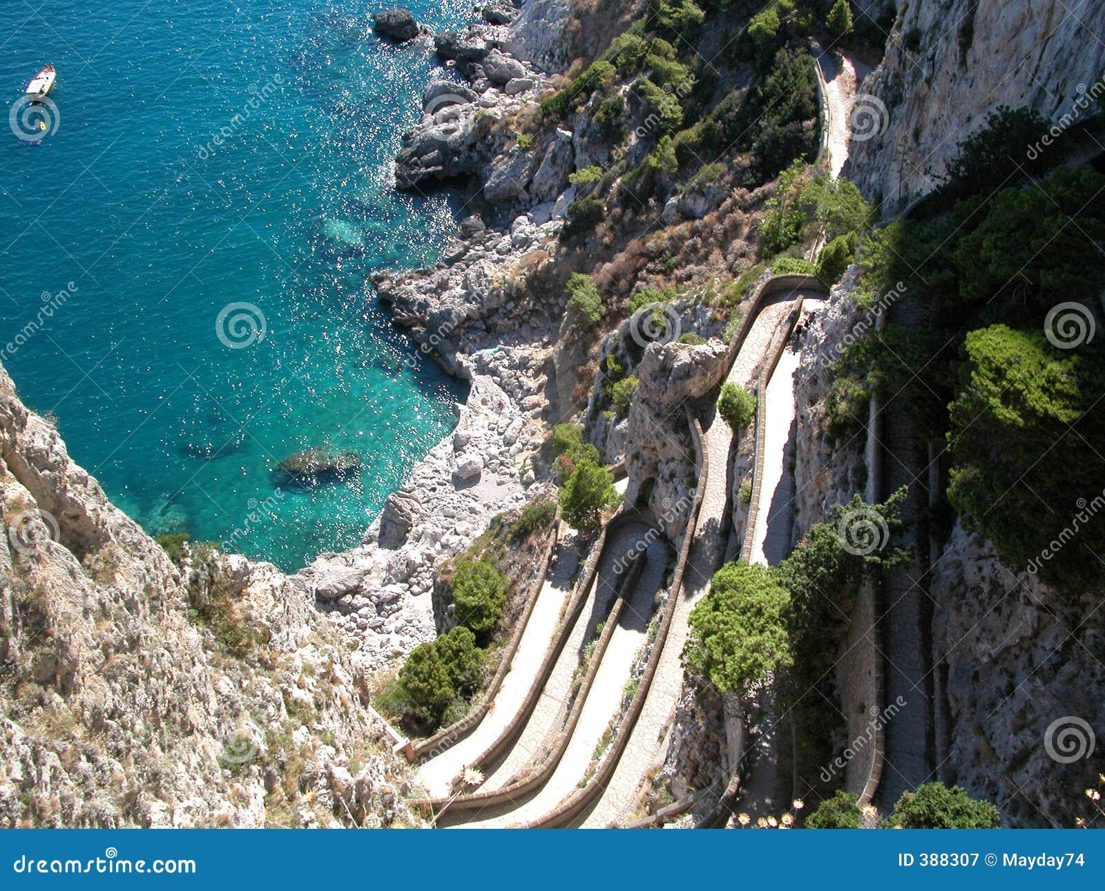 κυανή απελευθέρωση capri