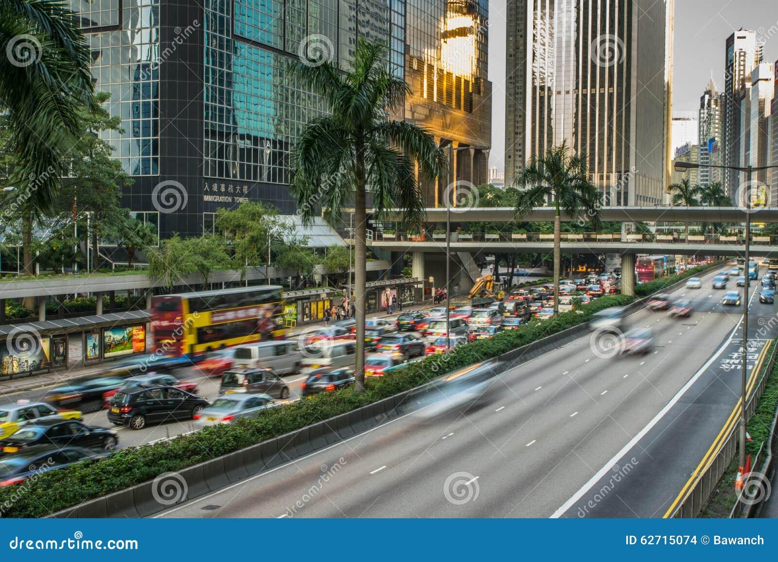 Κυκλοφορία οδών στο Χονγκ Κονγκ