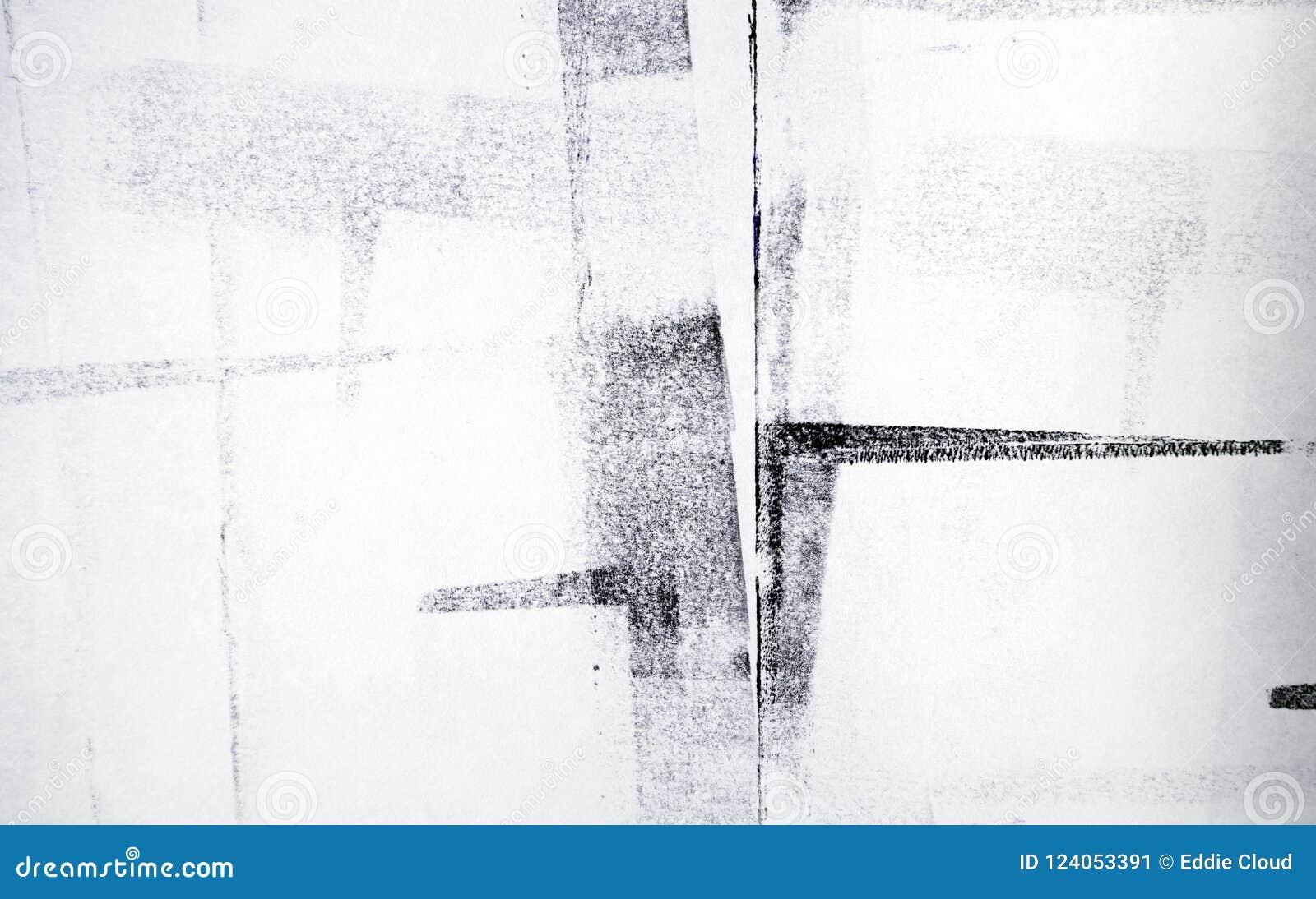 Κυλημένο ακρυλικό χρώμα που απομονώνεται στο άσπρο υπόβαθρο