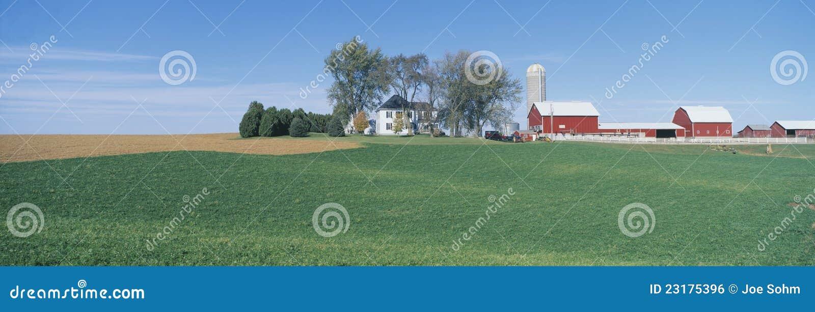 Κυλώντας αγροτικά πεδία