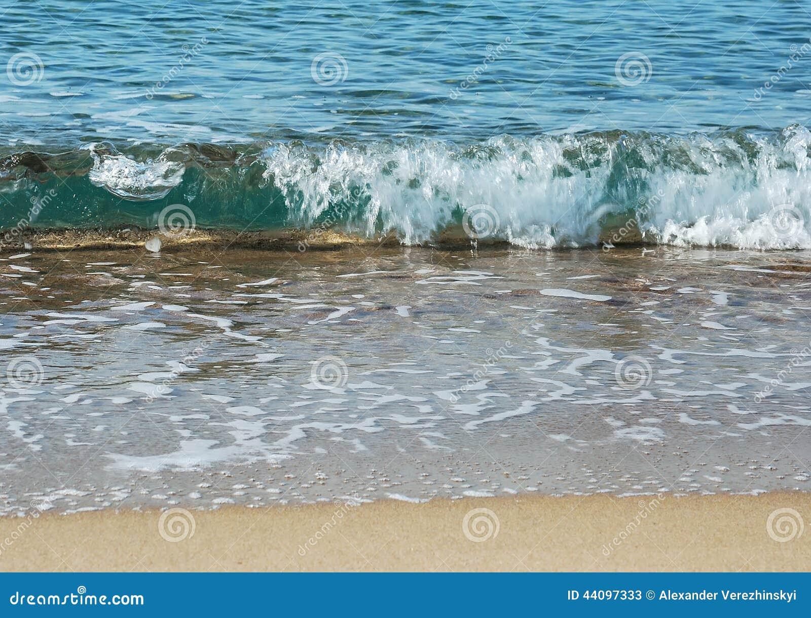 Κυματωγή στην παραλία