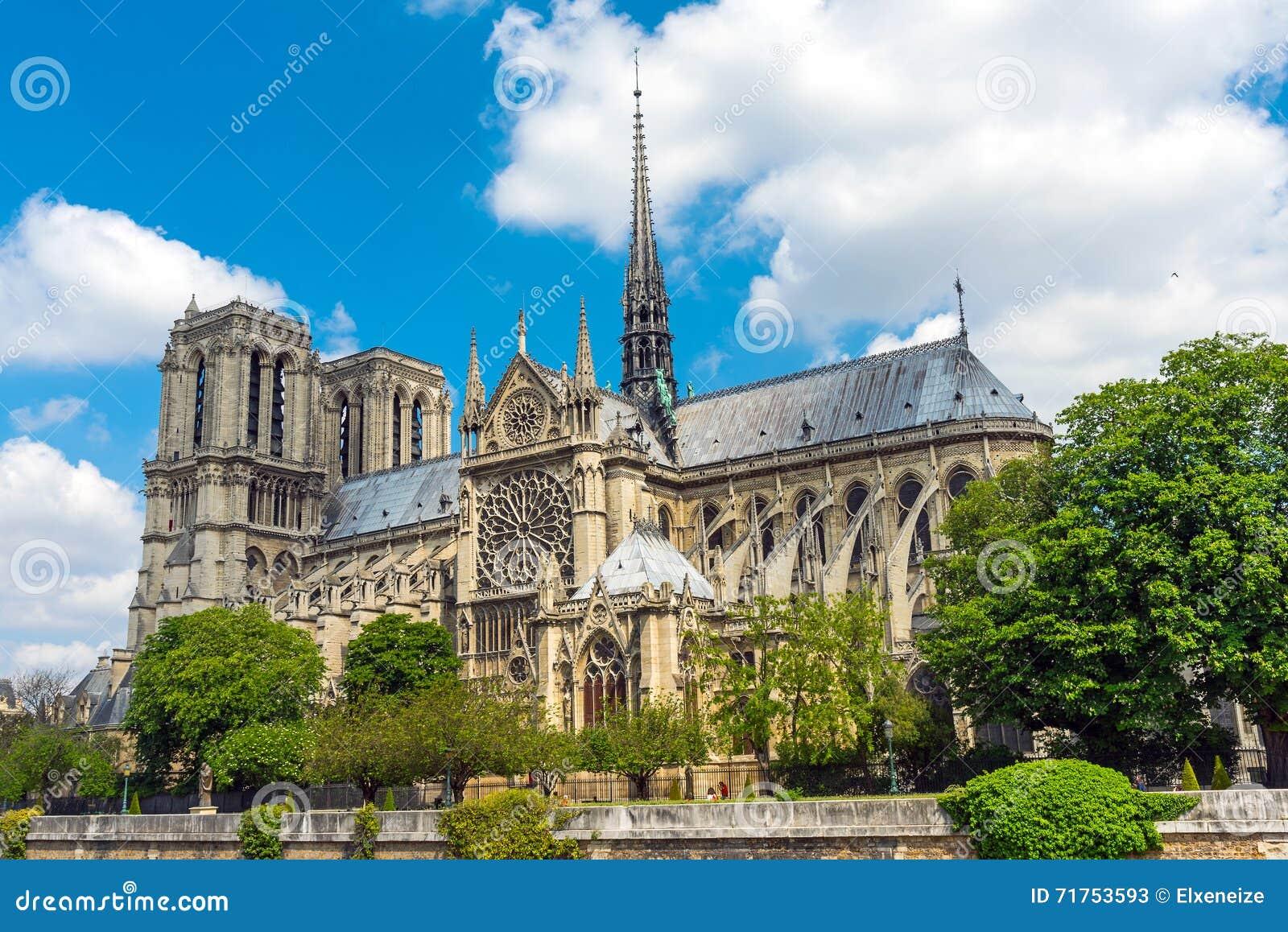 κυρία notre Παρίσι καθεδρικών &n