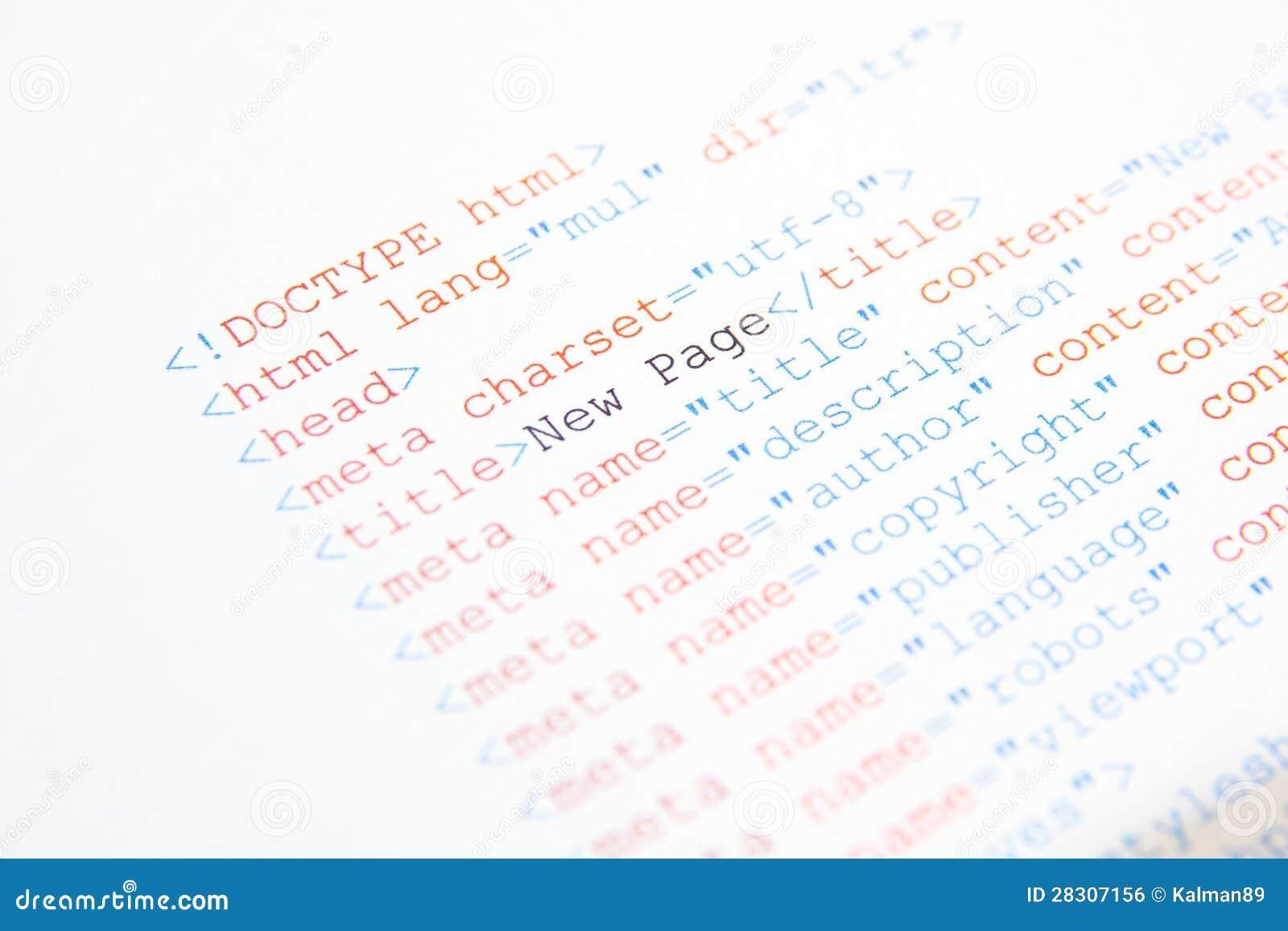 Κωδικός πηγής HTML