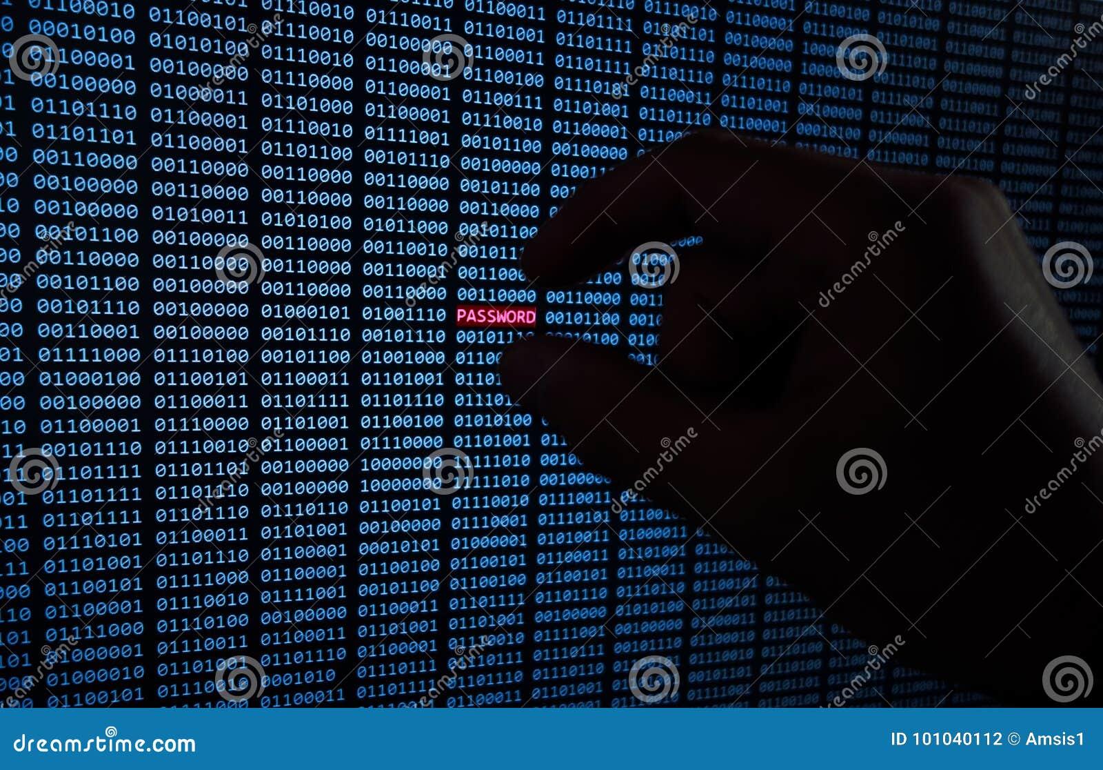 Κωδικός πρόσβασης που κλέβεται