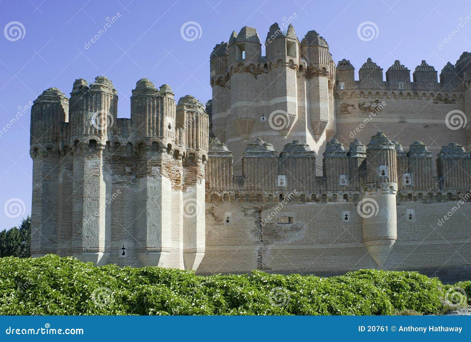 κόκα de castillo