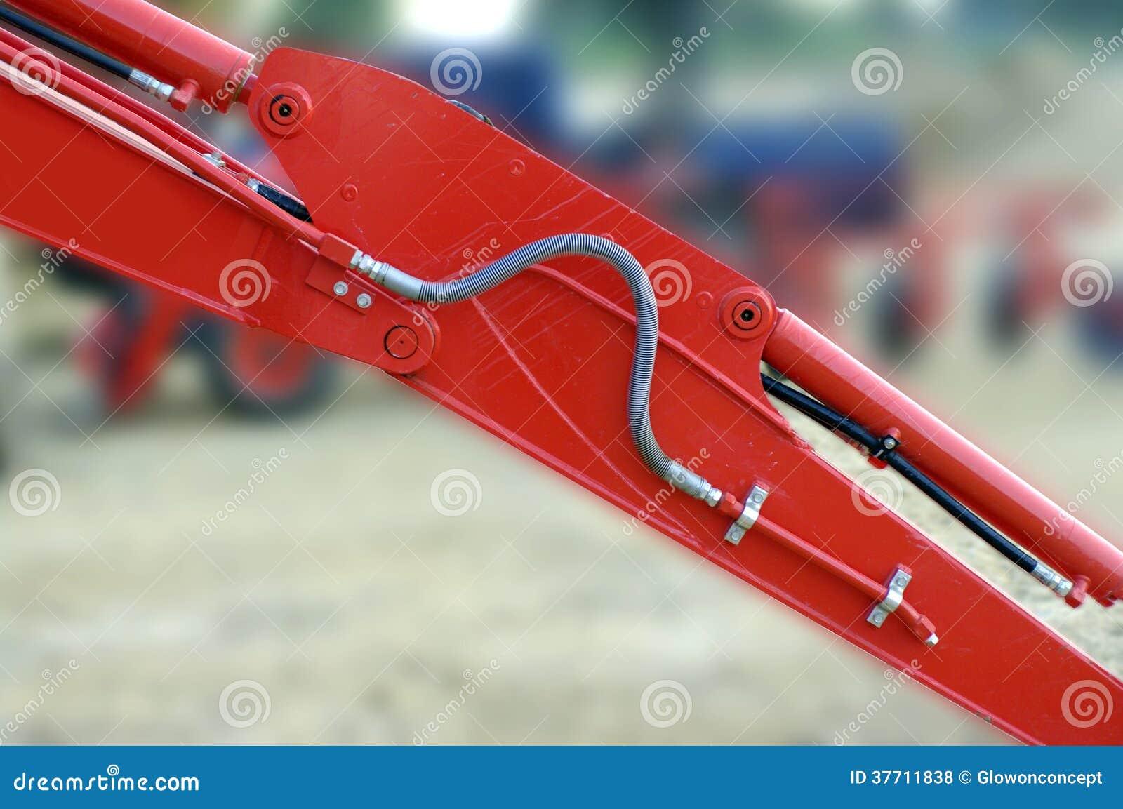 Κόκκινα μηχανικά μέρη