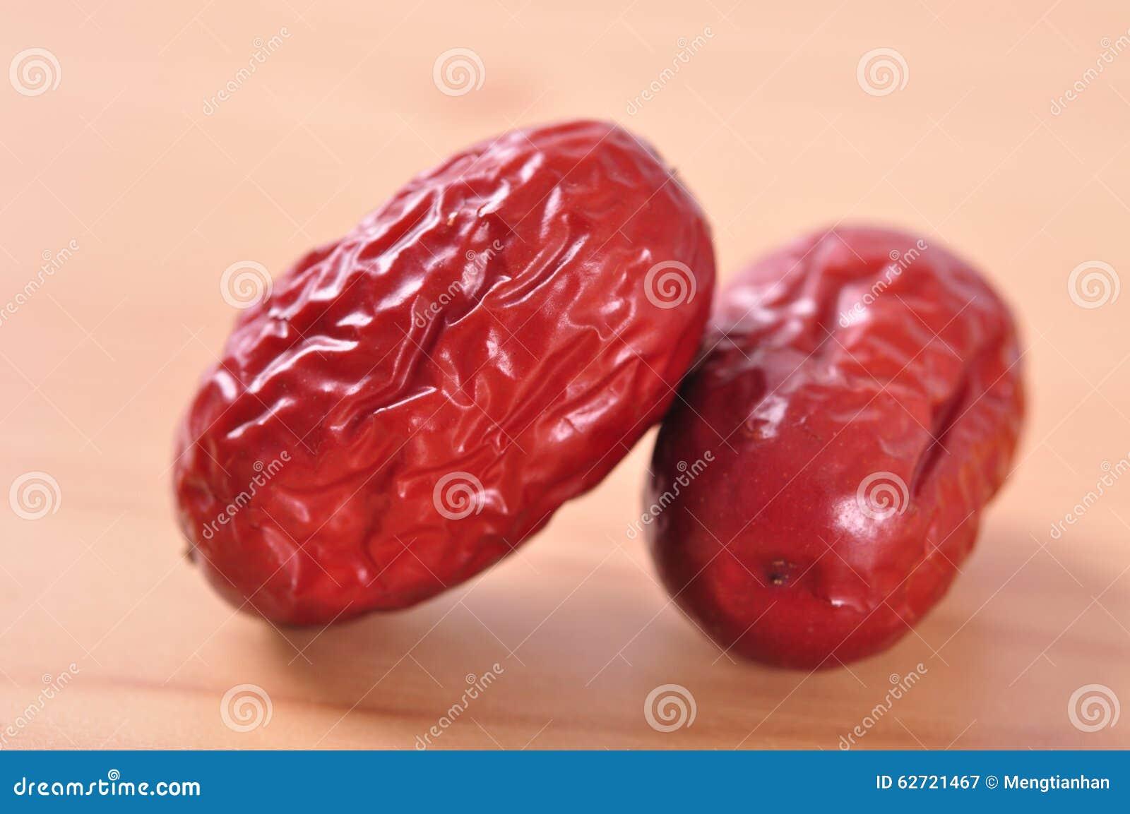 Κόκκινα jujube-ξηρά φρούτα