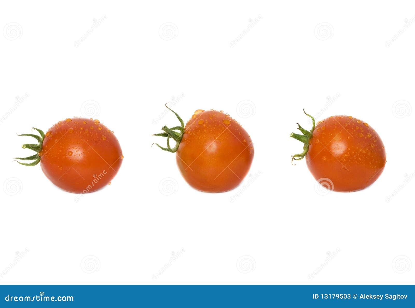 κόκκινες ντομάτες