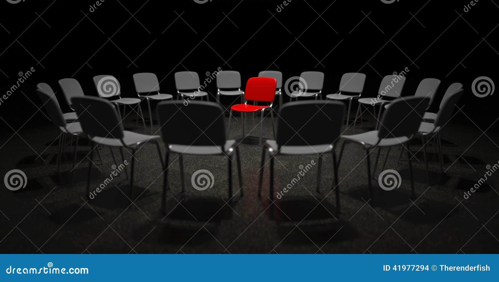 Κόκκινη έδρα στο κέντρο της προσοχής
