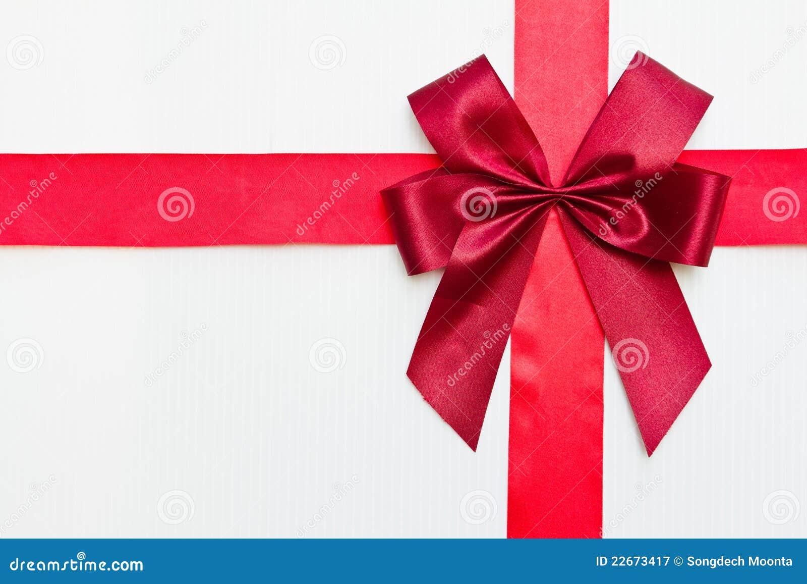 κόκκινη κορδέλλα δώρων