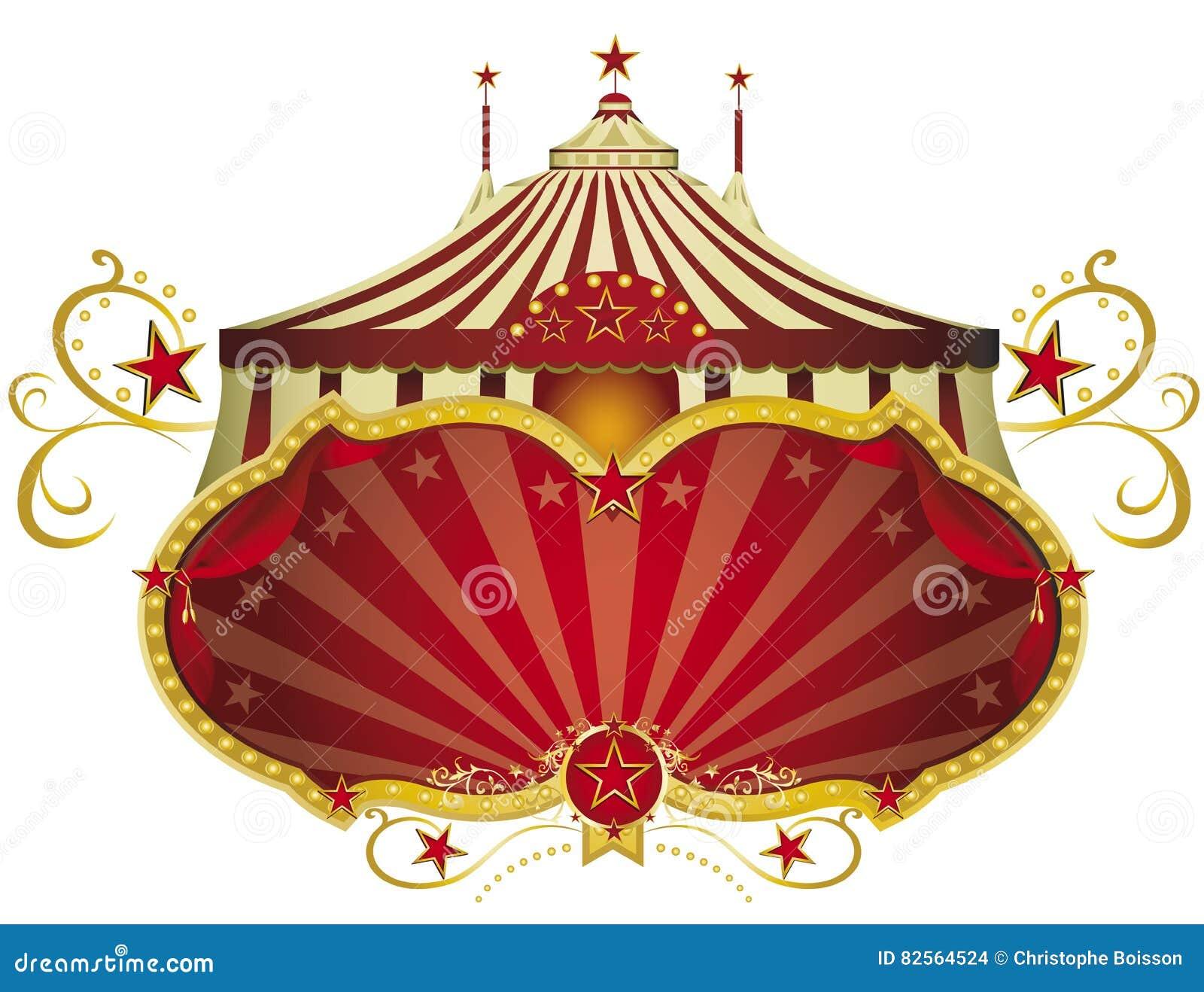 Κόκκινη πινακίδα τσίρκων