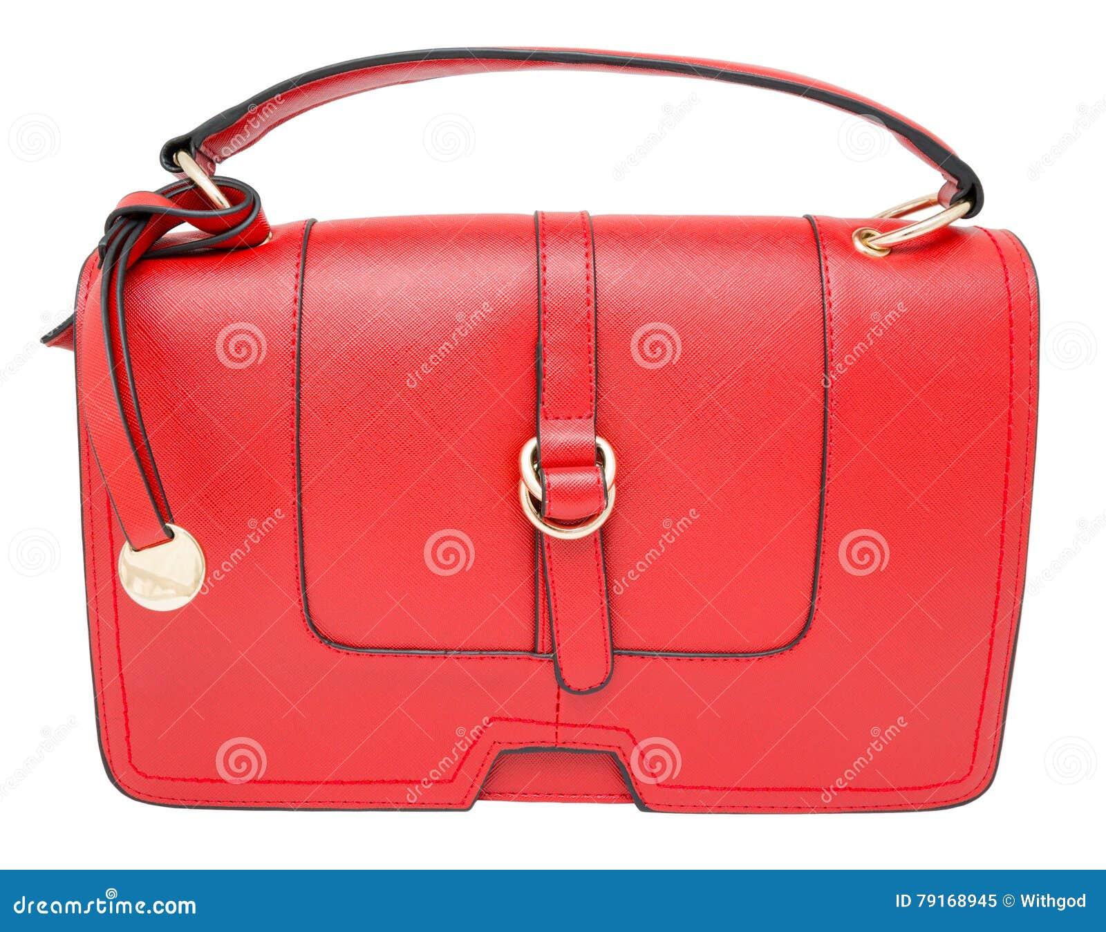 a7383933f0 Κόκκινη ορθογώνια γυναικεία τσάντα