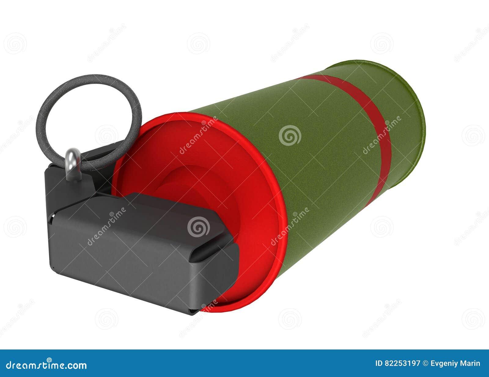 Κόκκινη χειροβομβίδα καπνού