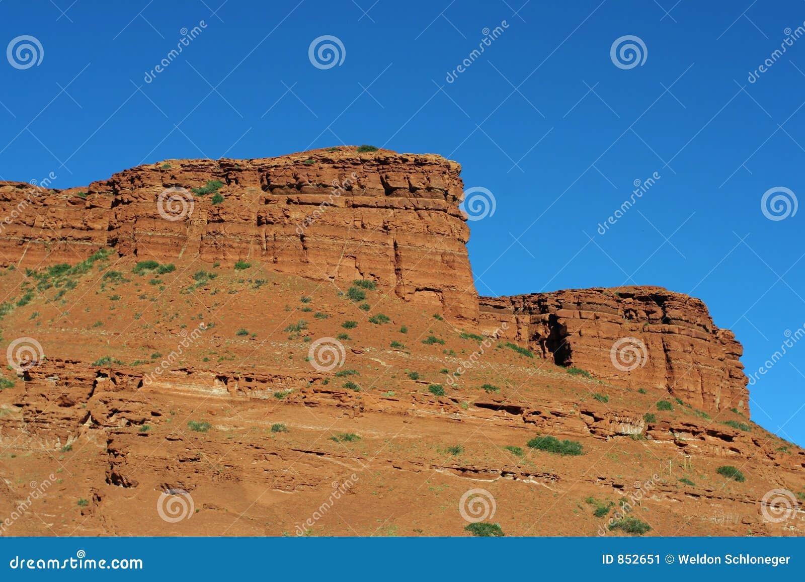 κόκκινοι βράχοι Wyoming
