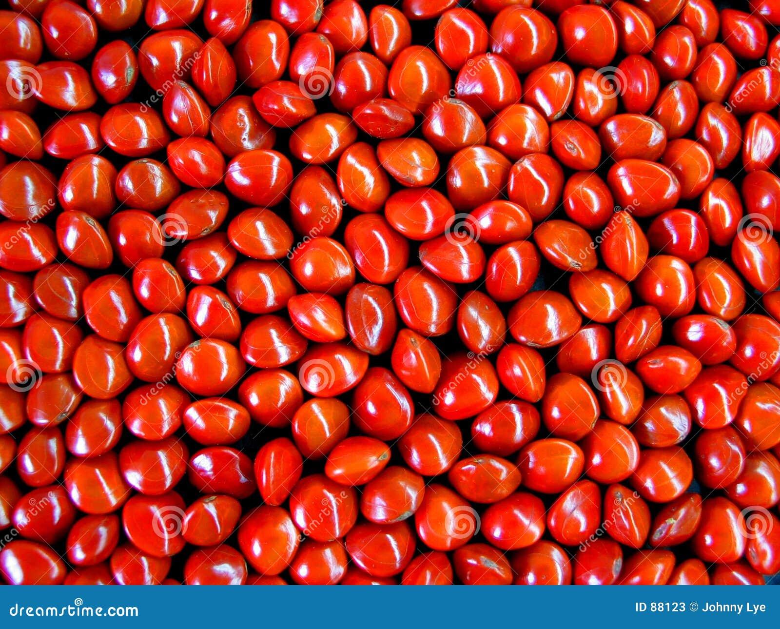 κόκκινοι σπόροι