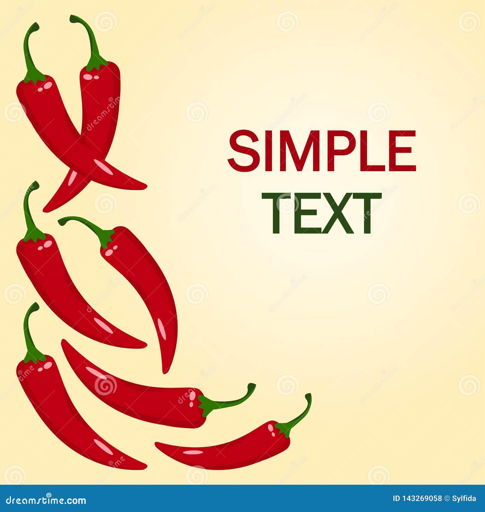 Κόκκινος - καυτό πιπέρι τσίλι r
