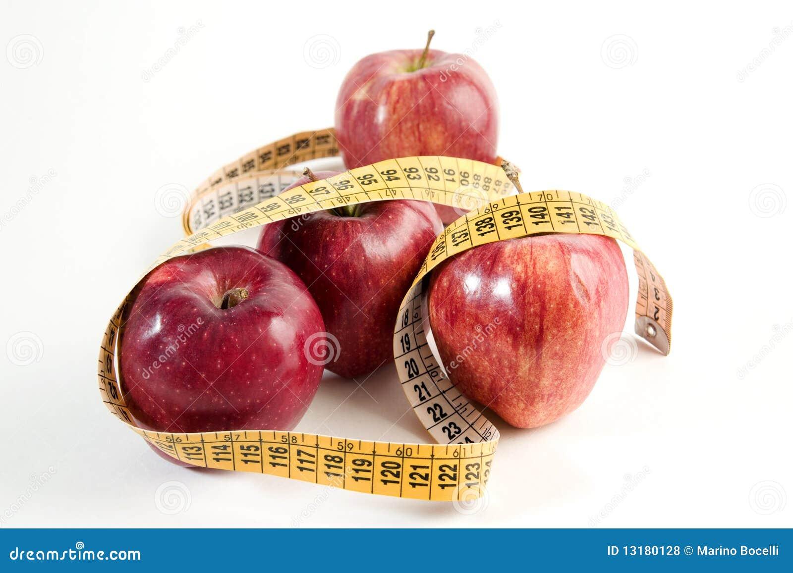 κόκκινος λεπτός μήλων