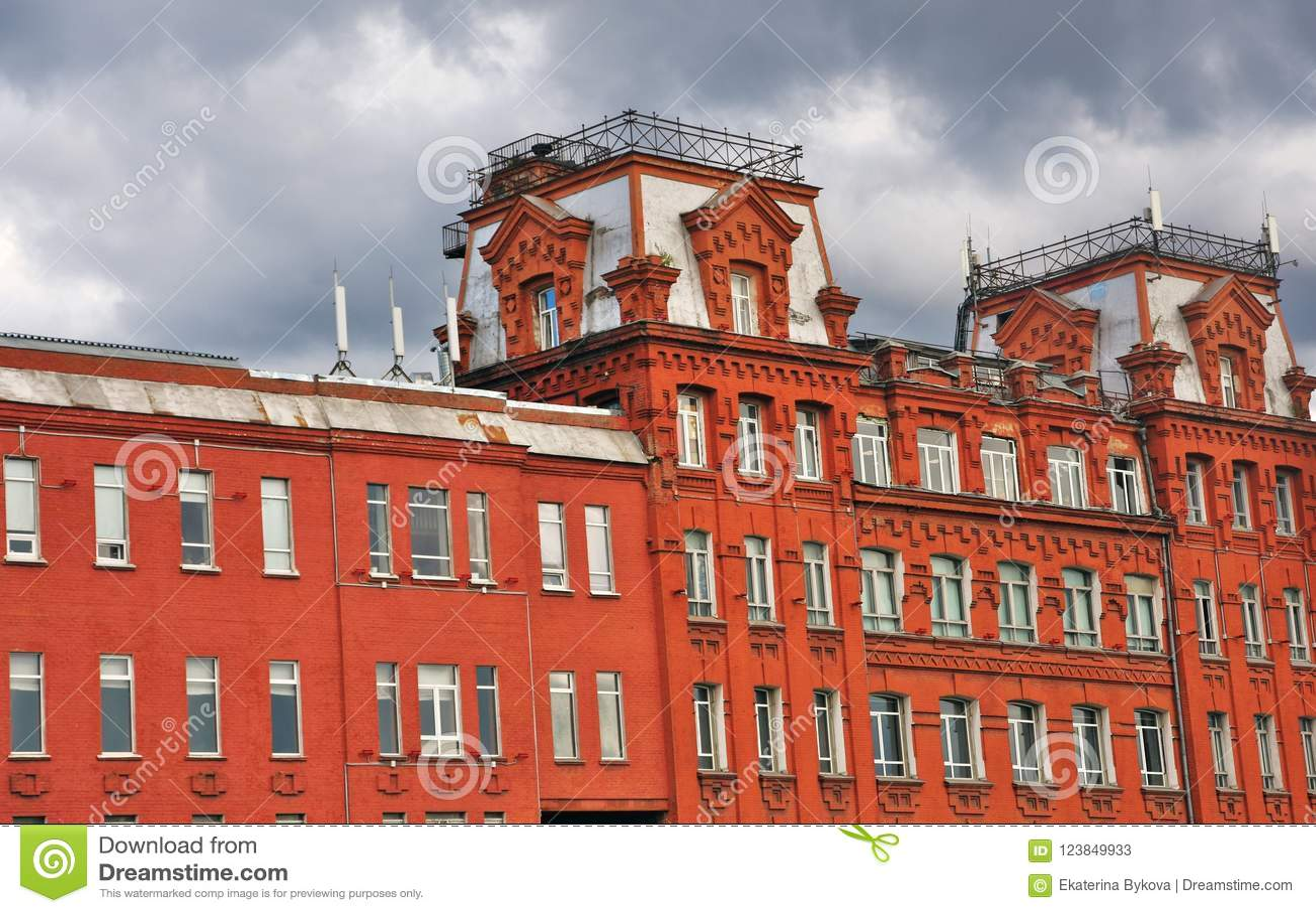 Κόκκινος Οκτώβριος σύνθετος στη Μόσχα