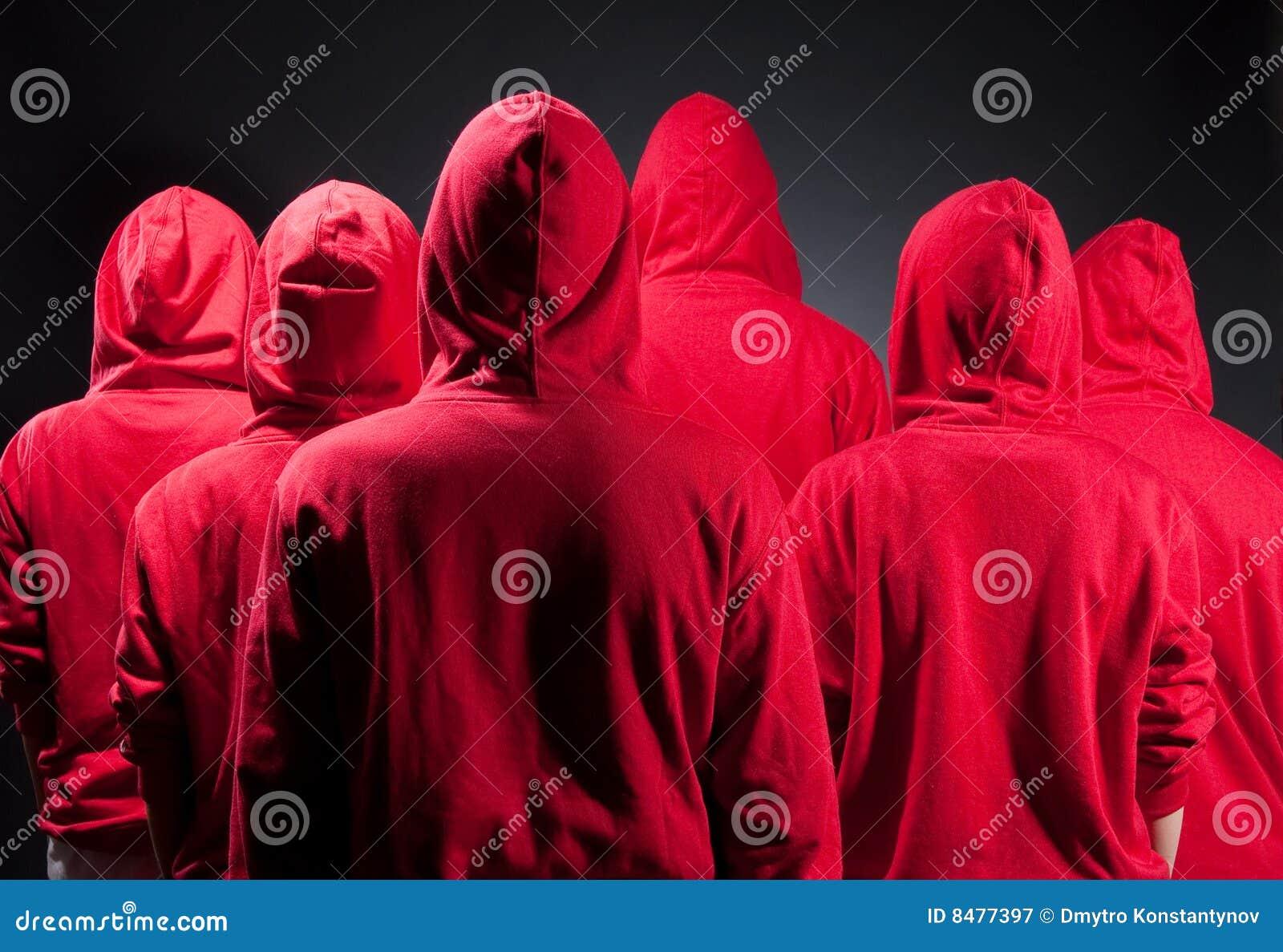 κόκκινο ανθρώπων ενδυμάτω&n