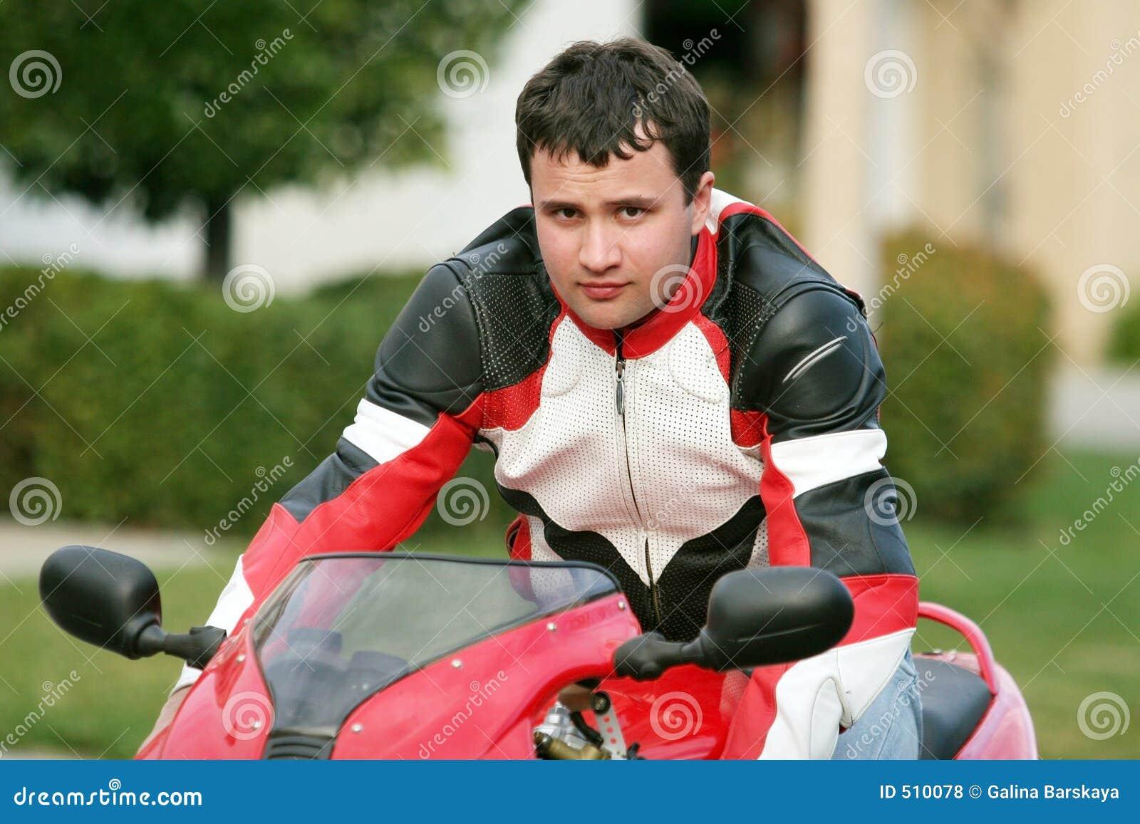 κόκκινο ατόμων ποδηλάτων