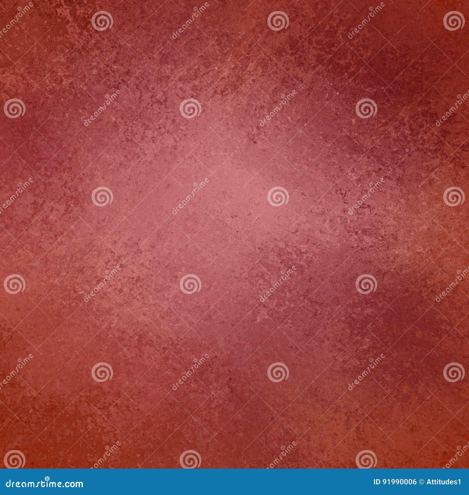 Κόκκινο και ρόδινο υπόβαθρο με τα εκλεκτής ποιότητας σύνορα σύστασης grunge και το μαλακό ελαφρύ κέντρο