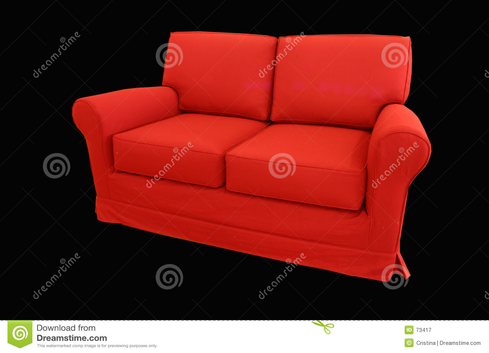 κόκκινο καναπέδων
