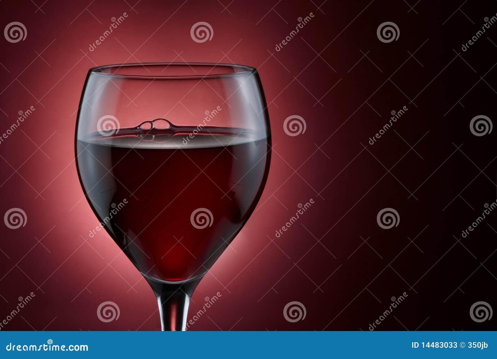 κόκκινο κρασί γυαλιού