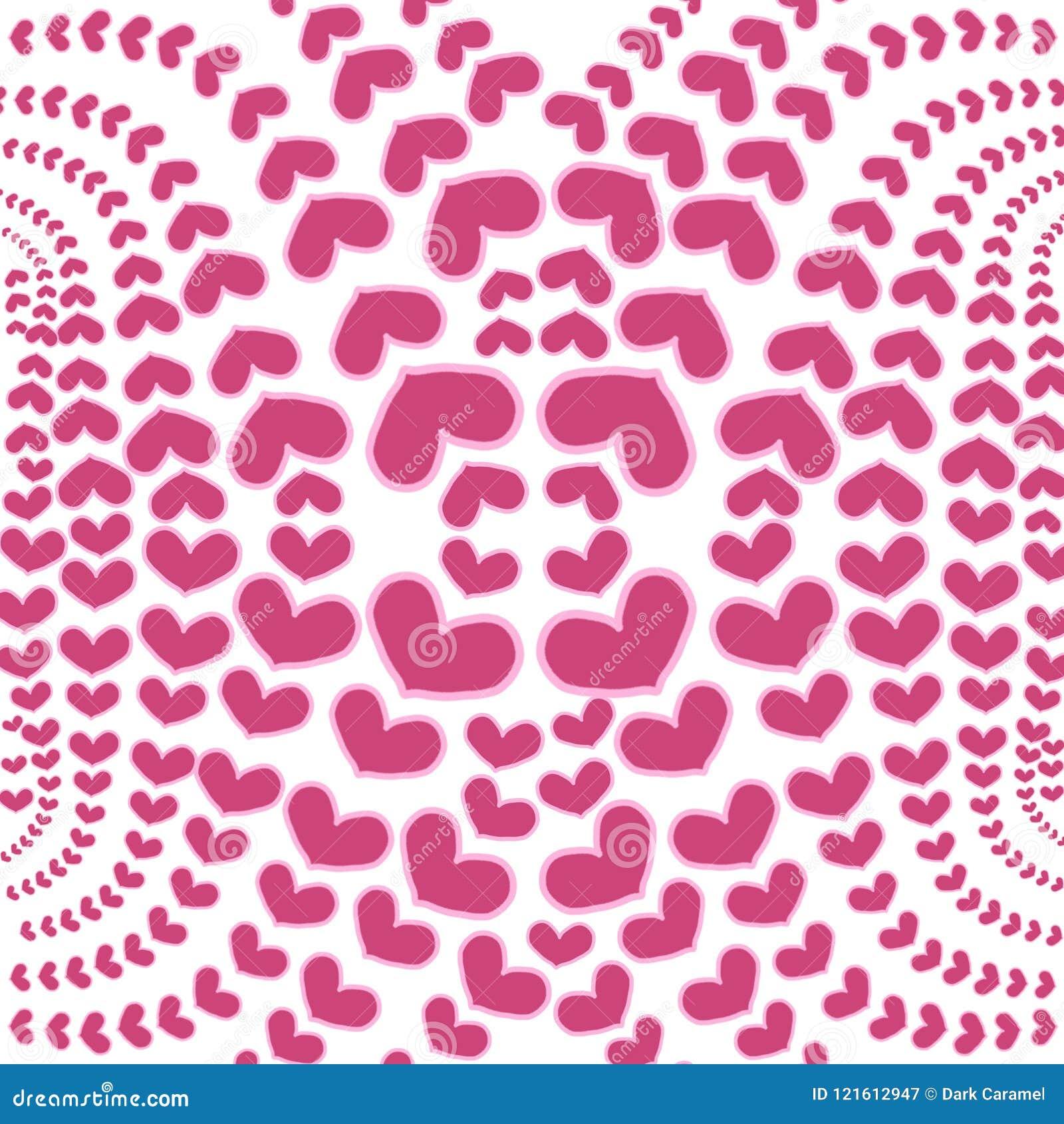 κόκκινο λευκό καρδιών αν&alp
