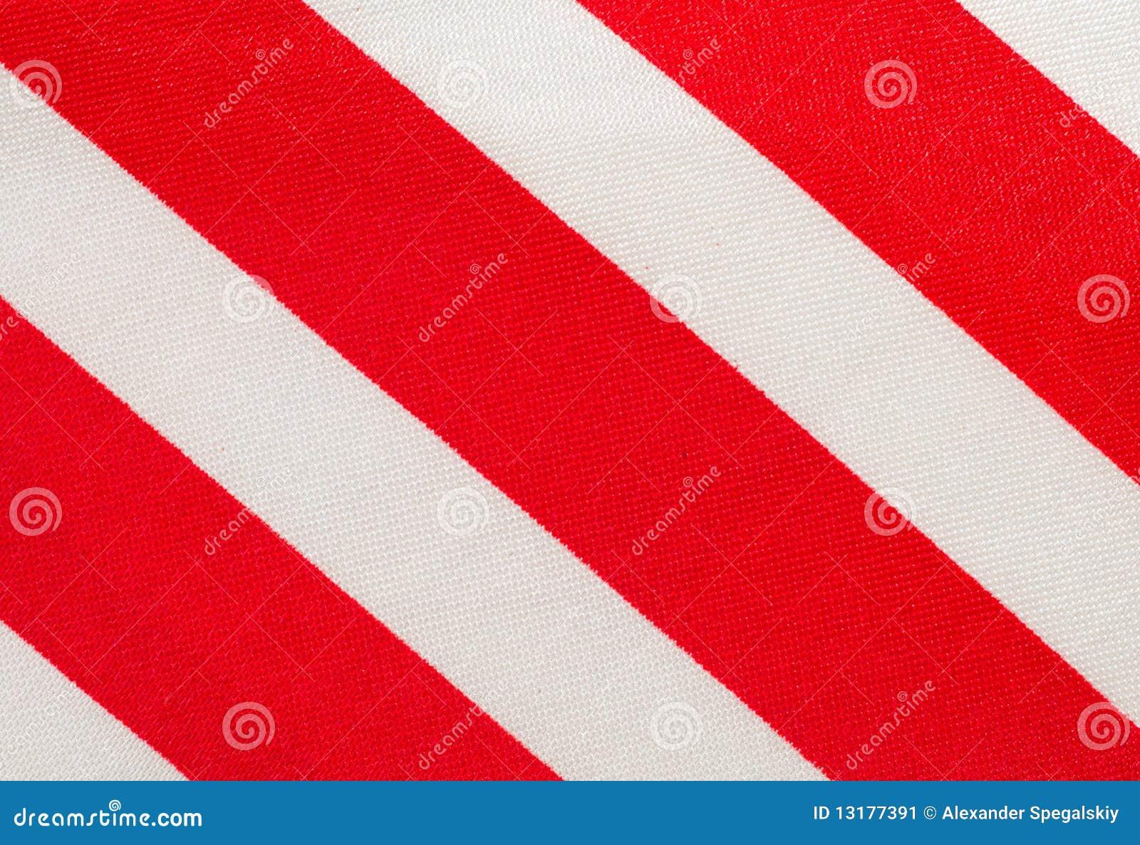 κόκκινο λευκό λουρίδων &u