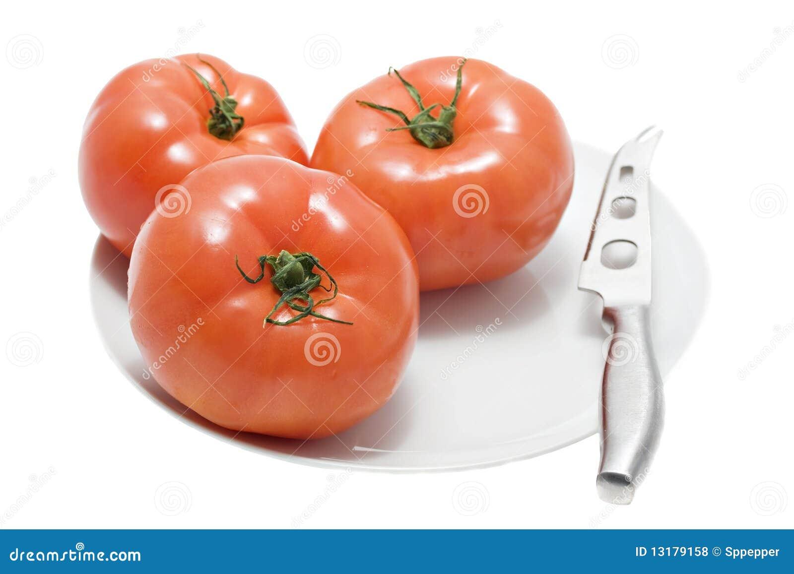 κόκκινο λευκό ντοματών πιά&t