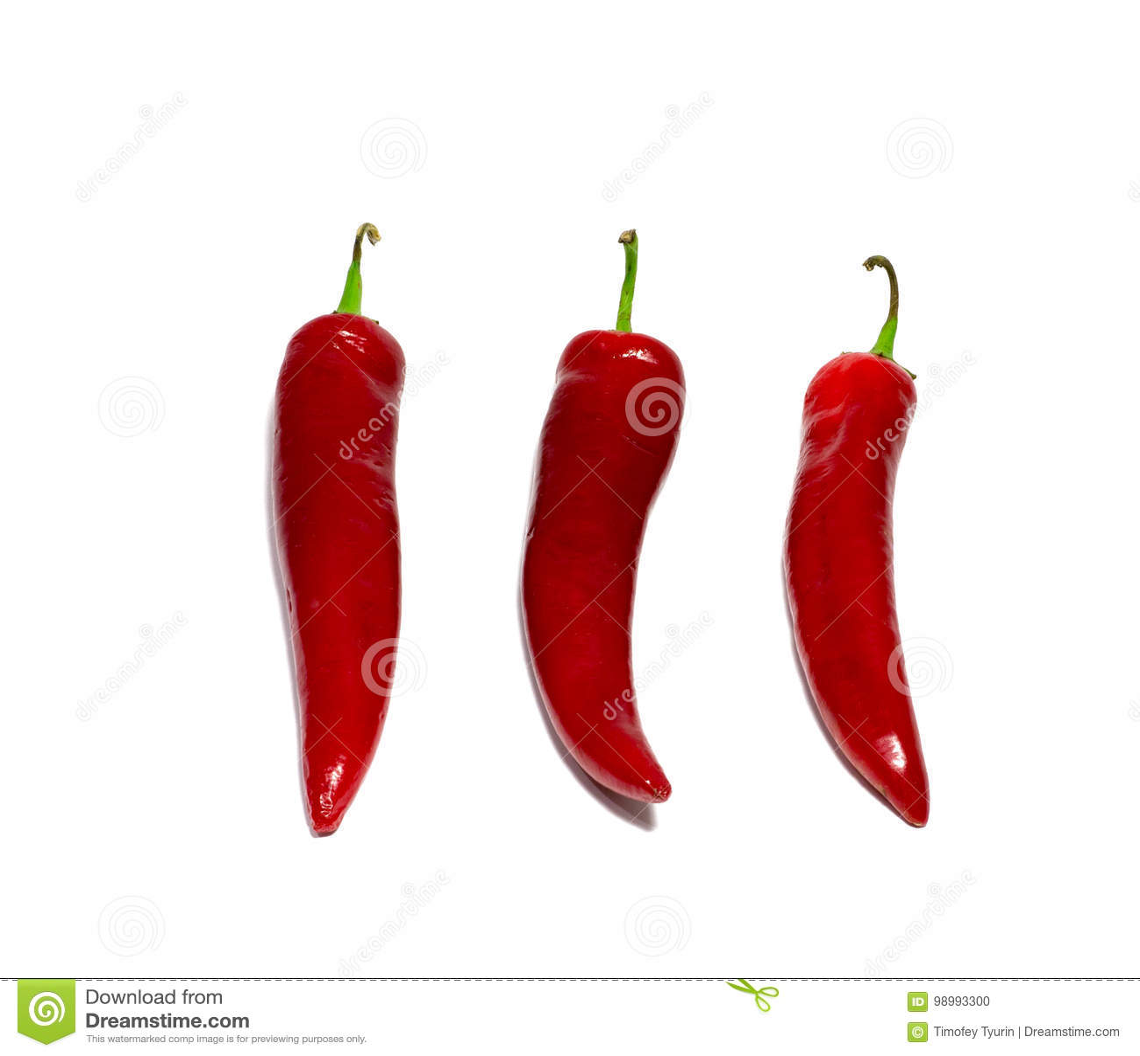 Κόκκινο πιπέρι τσίλι που απομονώνεται στο άσπρο υπόβαθρο τρόφιμα, αντικείμενο