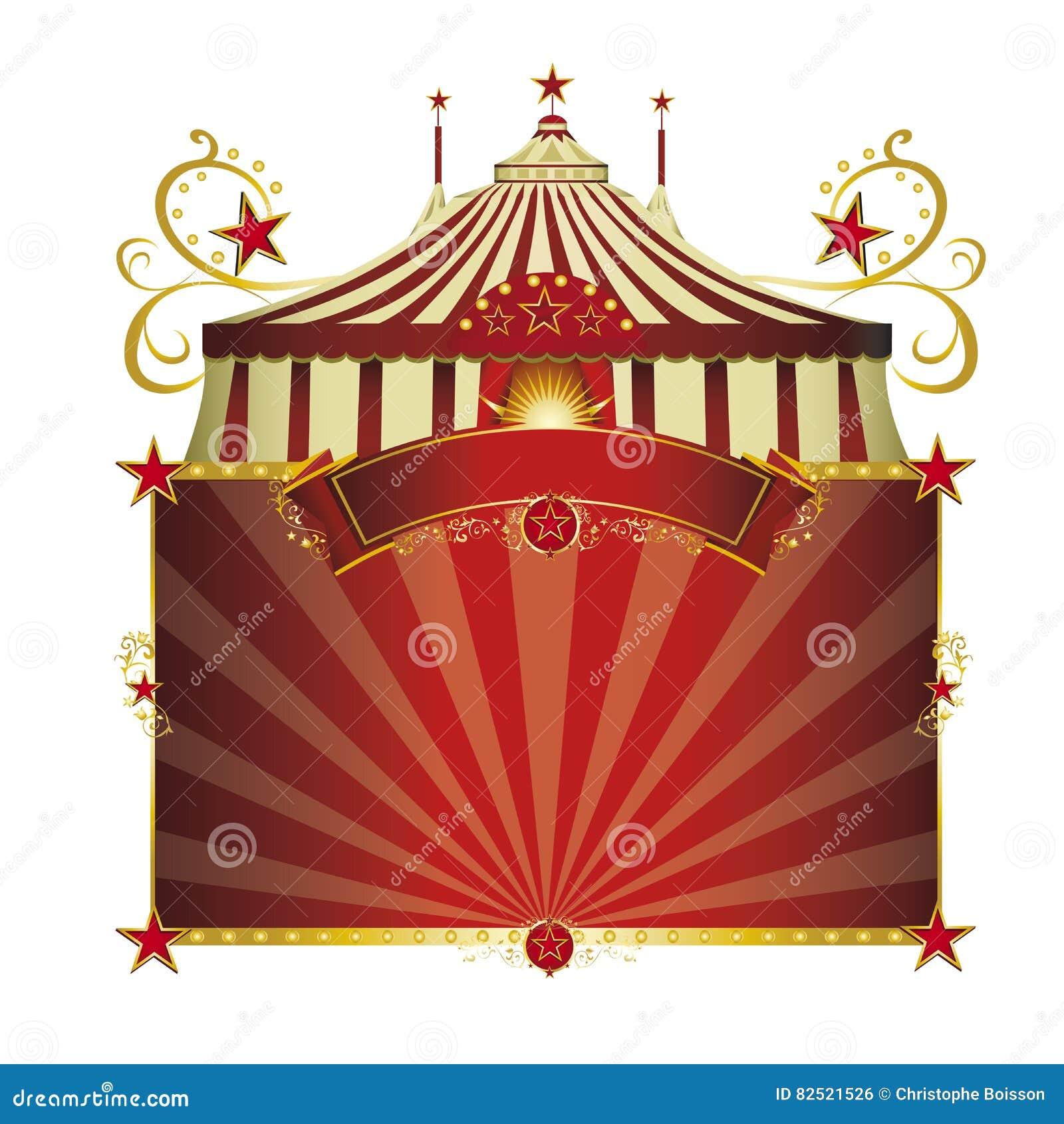 Κόκκινο πλαίσιο τσίρκων